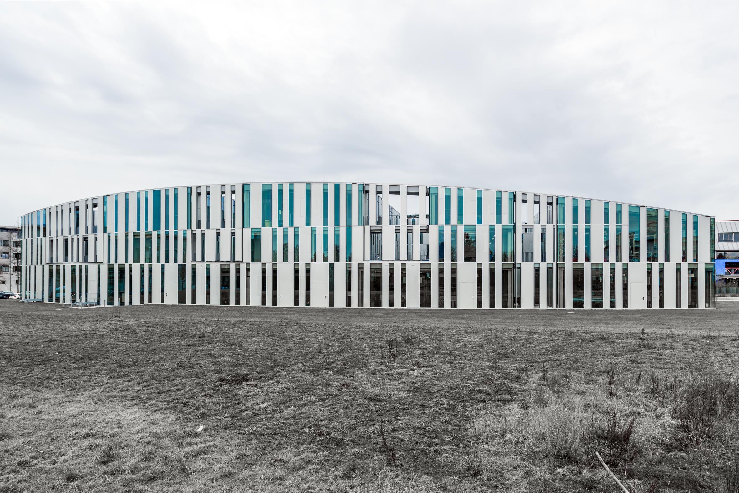 Architekturfotografie Hochschulbibliothek Stuttgart