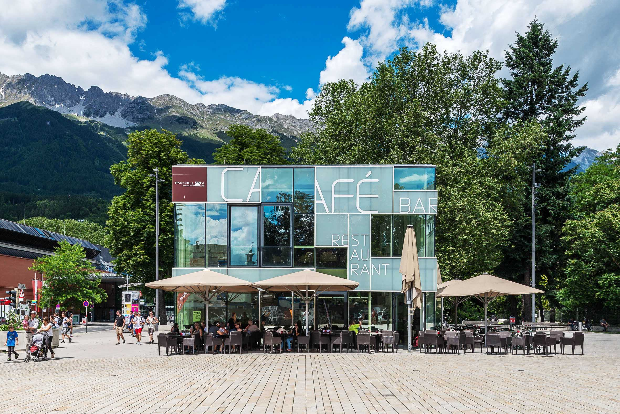 Architekturfotografie Cafe Bar Restaurant Innsbruck