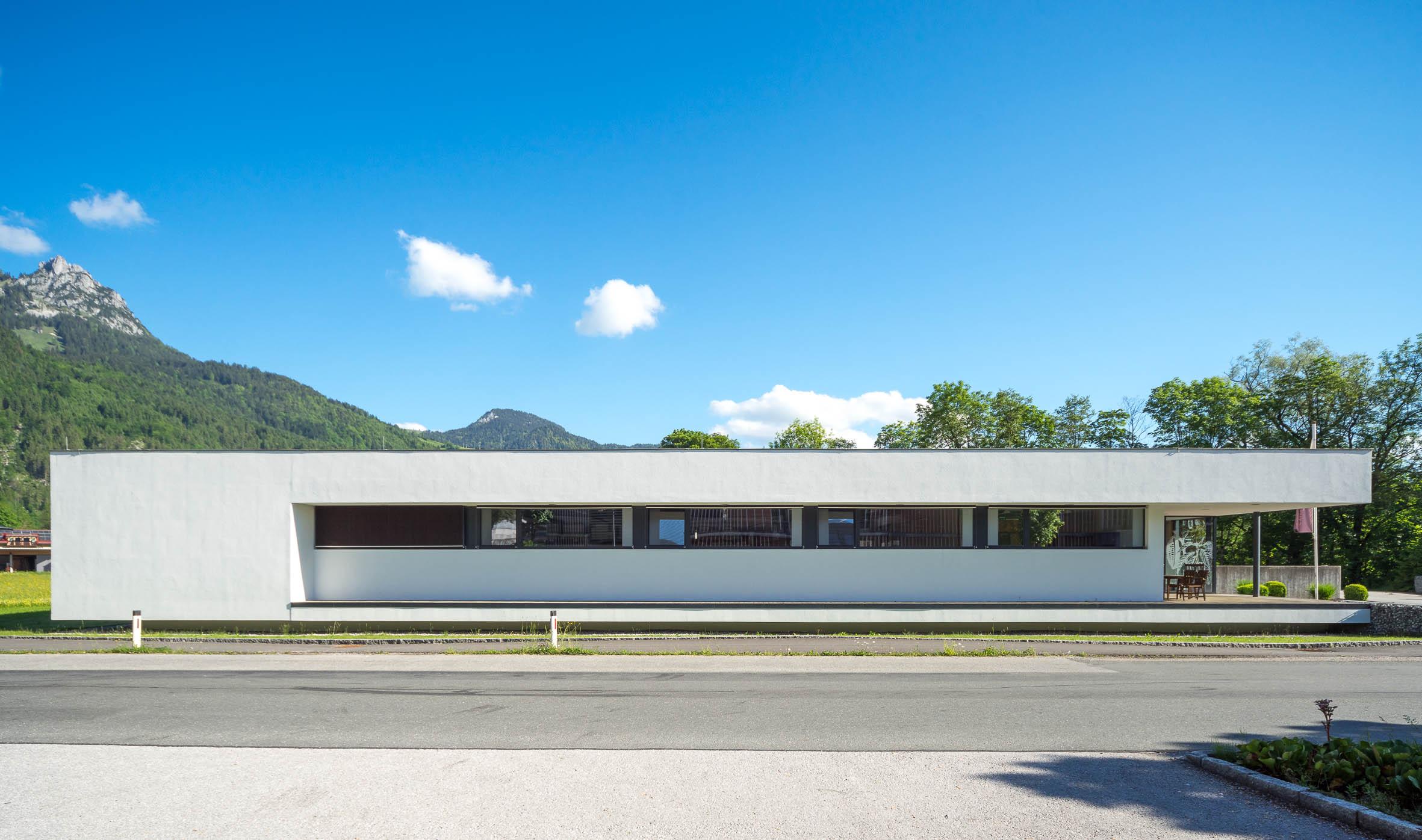 Architekturfotografie Geschäftshaus Lofer