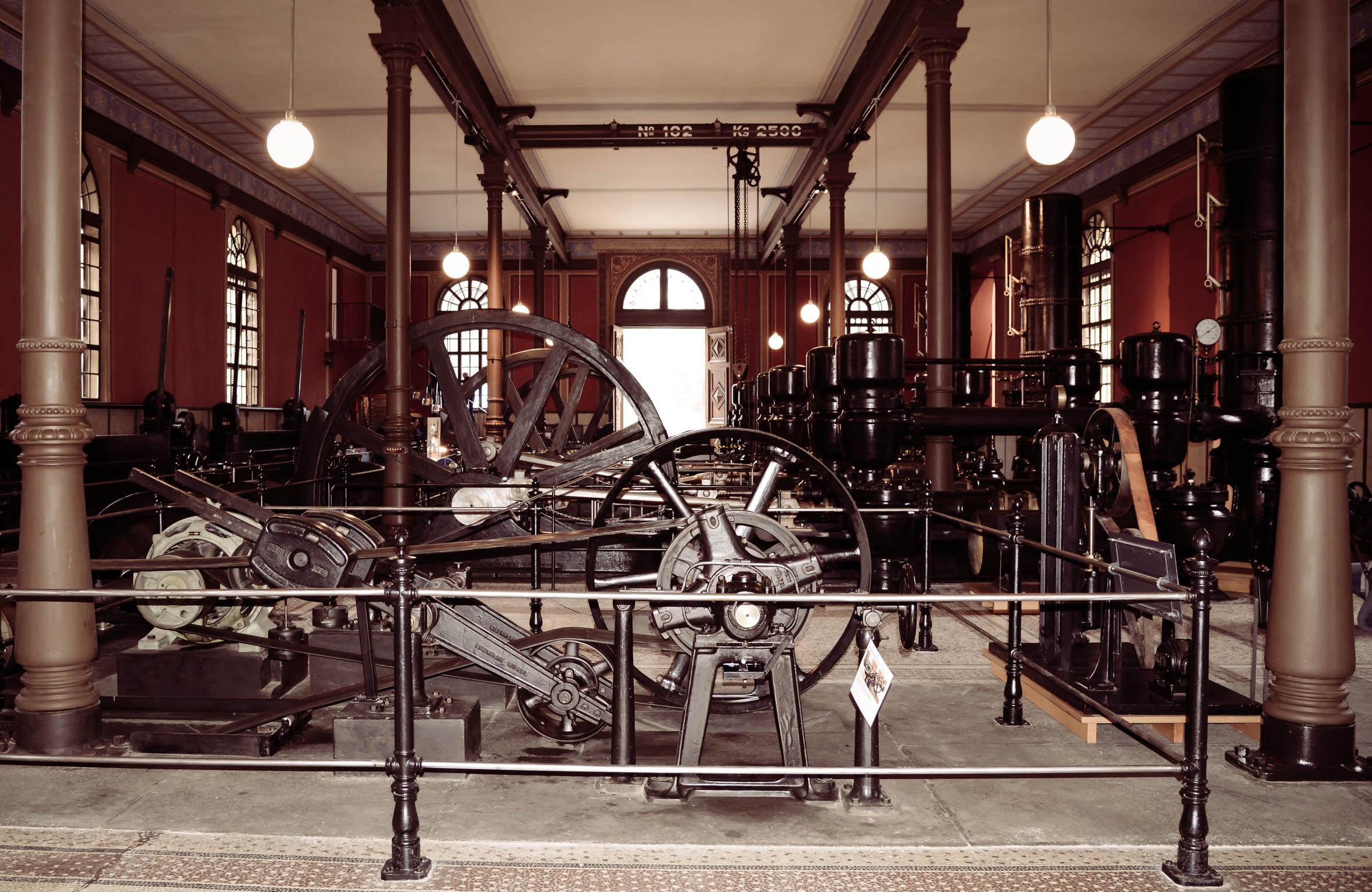 Architekturfotografie Historisches Wasserwerk Hochablass Augsburg