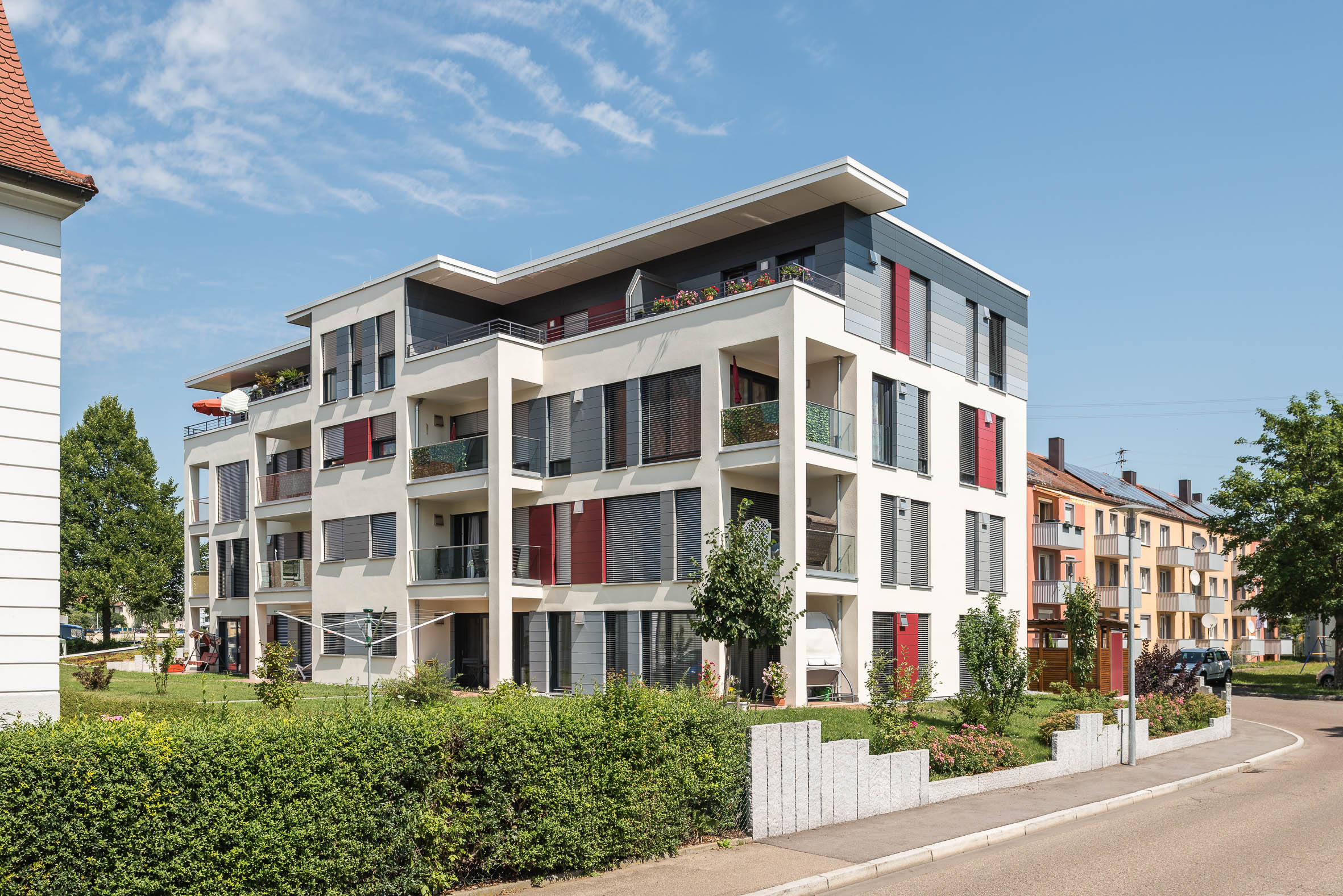 Architekturfotografie Nördlingen Seniorenwohnheim