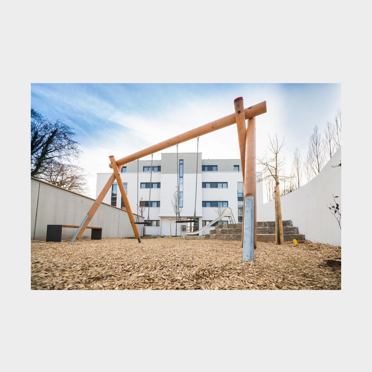 Architekturfotografie Wohnungsbau Argon City Augsburg