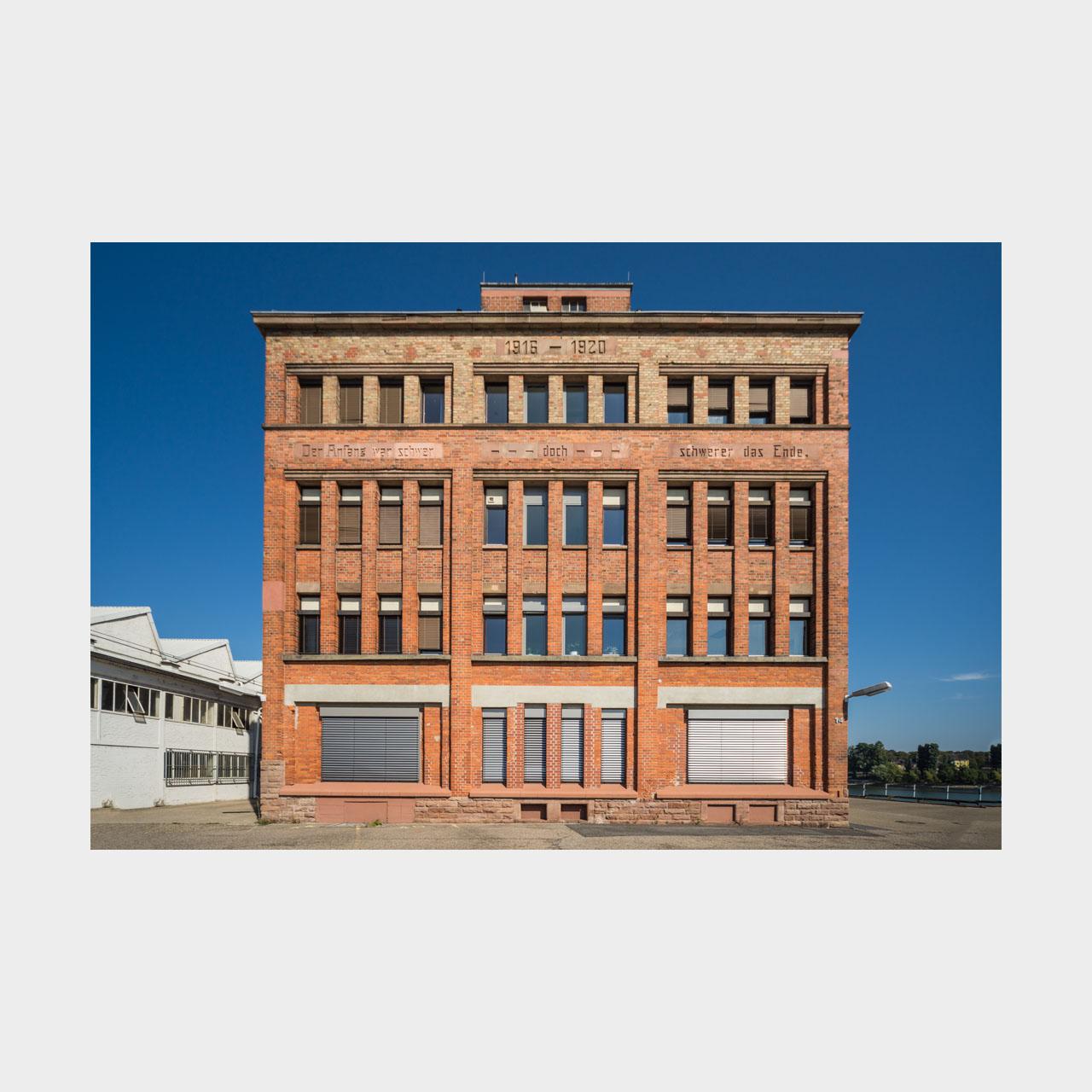 Architekturfotografie Bürogebäude Hafen Mannheim