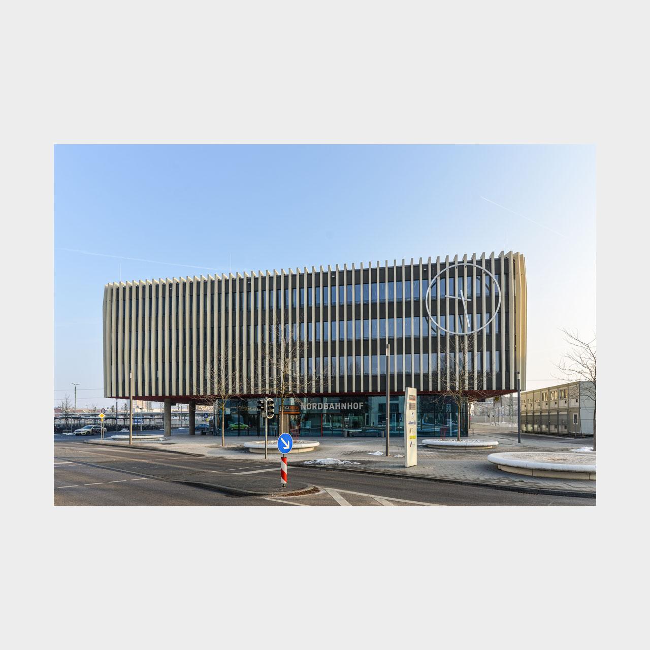 Architekturfotografie Nordbahnhof Ingolstadt