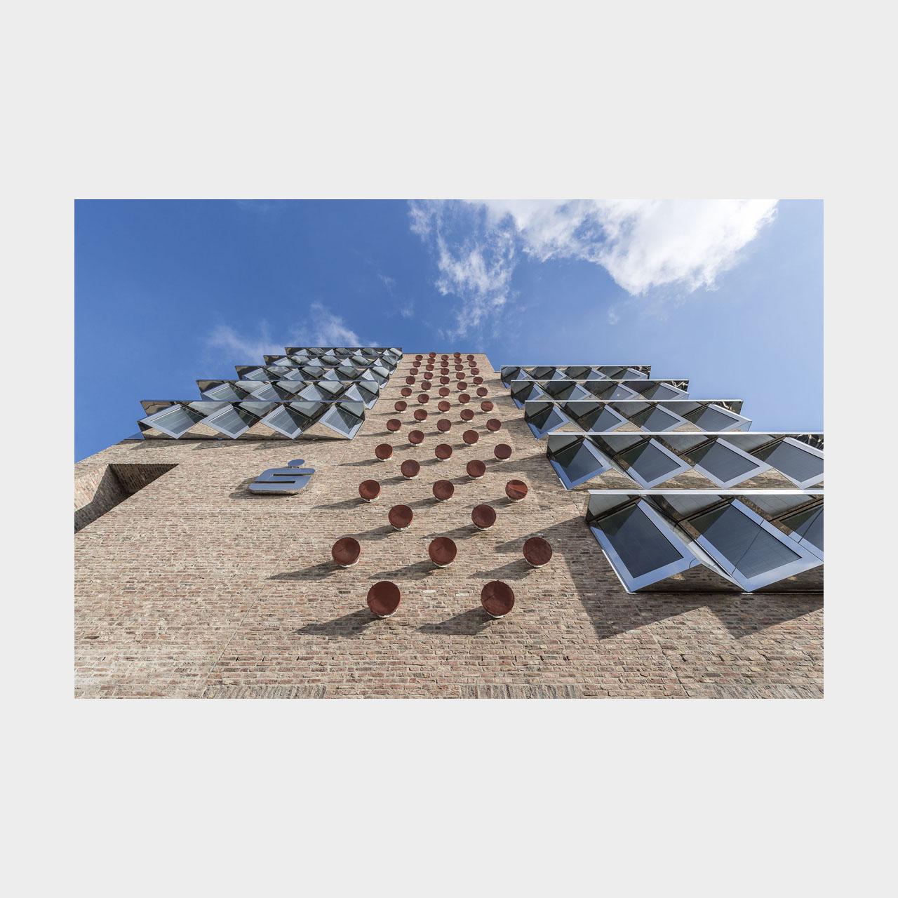 Architekturfotografie Erweiterung Sparkasse Ulm