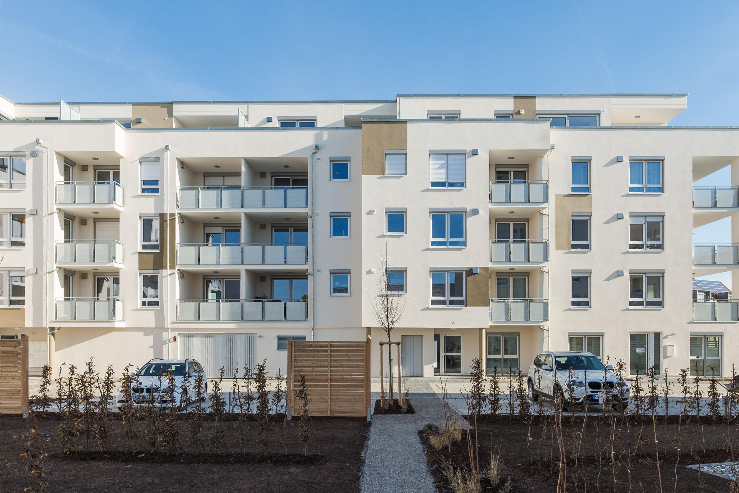 Architekturfotografie Wohnanlage Schwäbisch Hall Röwisch