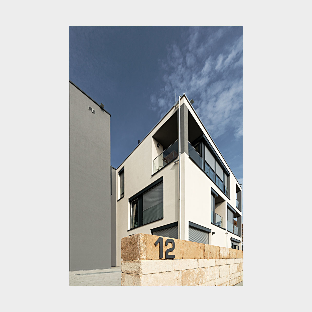 Architekturfotografie Wohnungsbau Langenau
