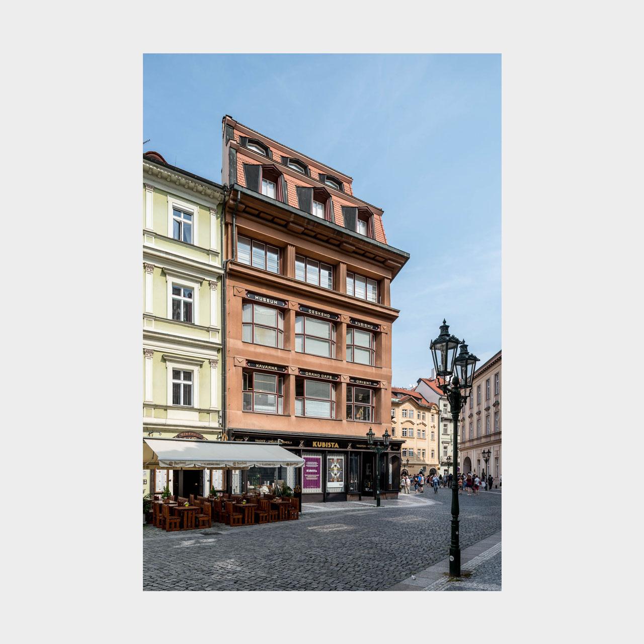 Architekturfotografie Kubismus Haus zur Schwarzen Mutter Gottes Prag