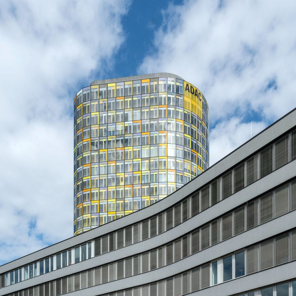 Architekturfotografie ADAC Zentrale München