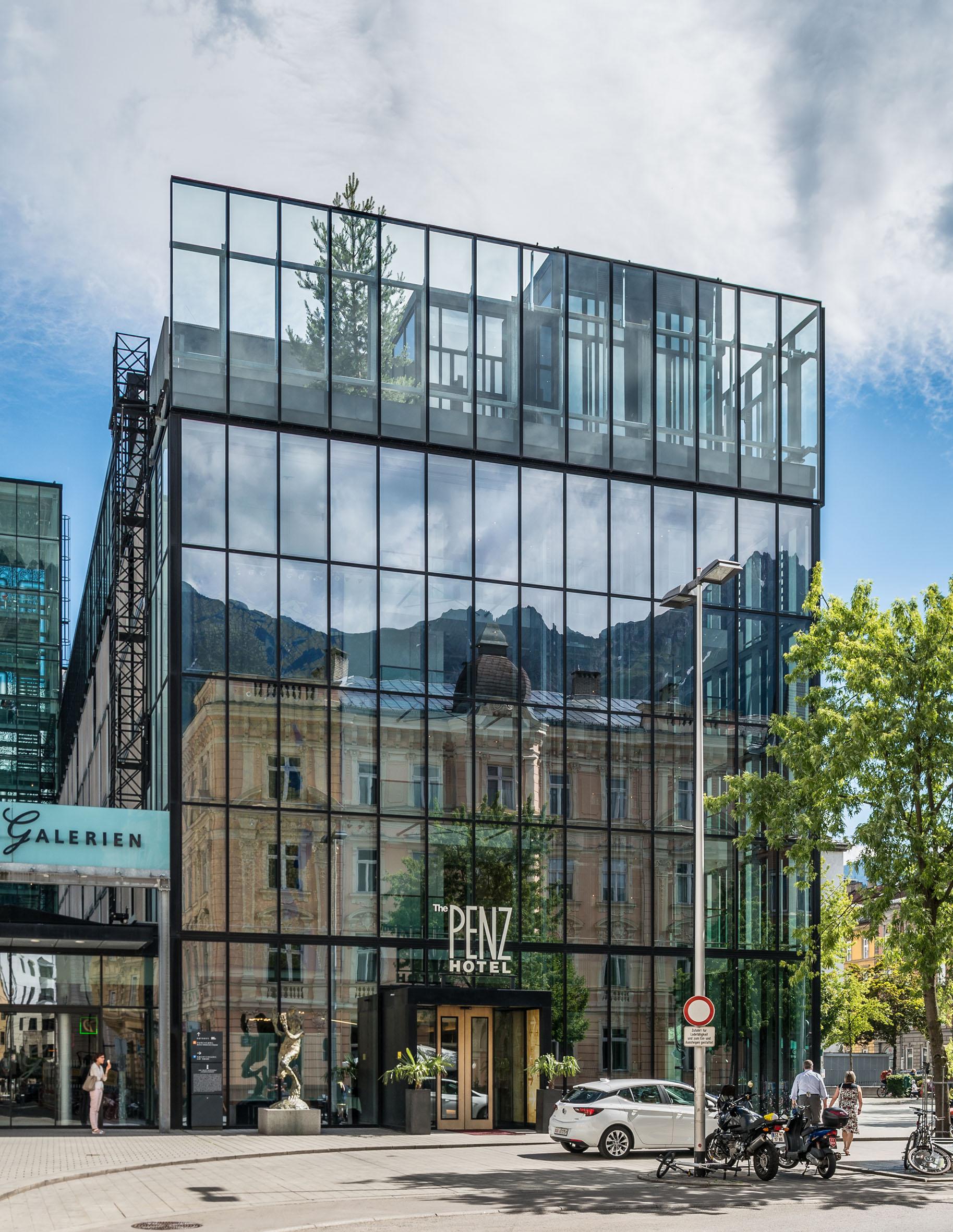Architekturfotografie Hotel The Penz Innsbruck