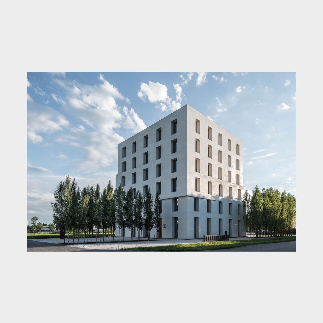 Architekturfotografie Bürogebäude 2226 Baumschlager Eberle Lustenau