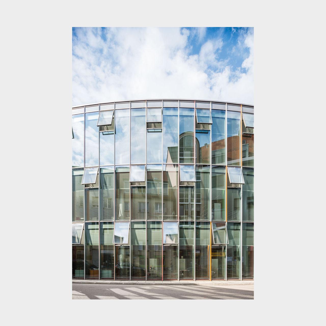 Architekturfotografie Stadtbücherei Augsburg