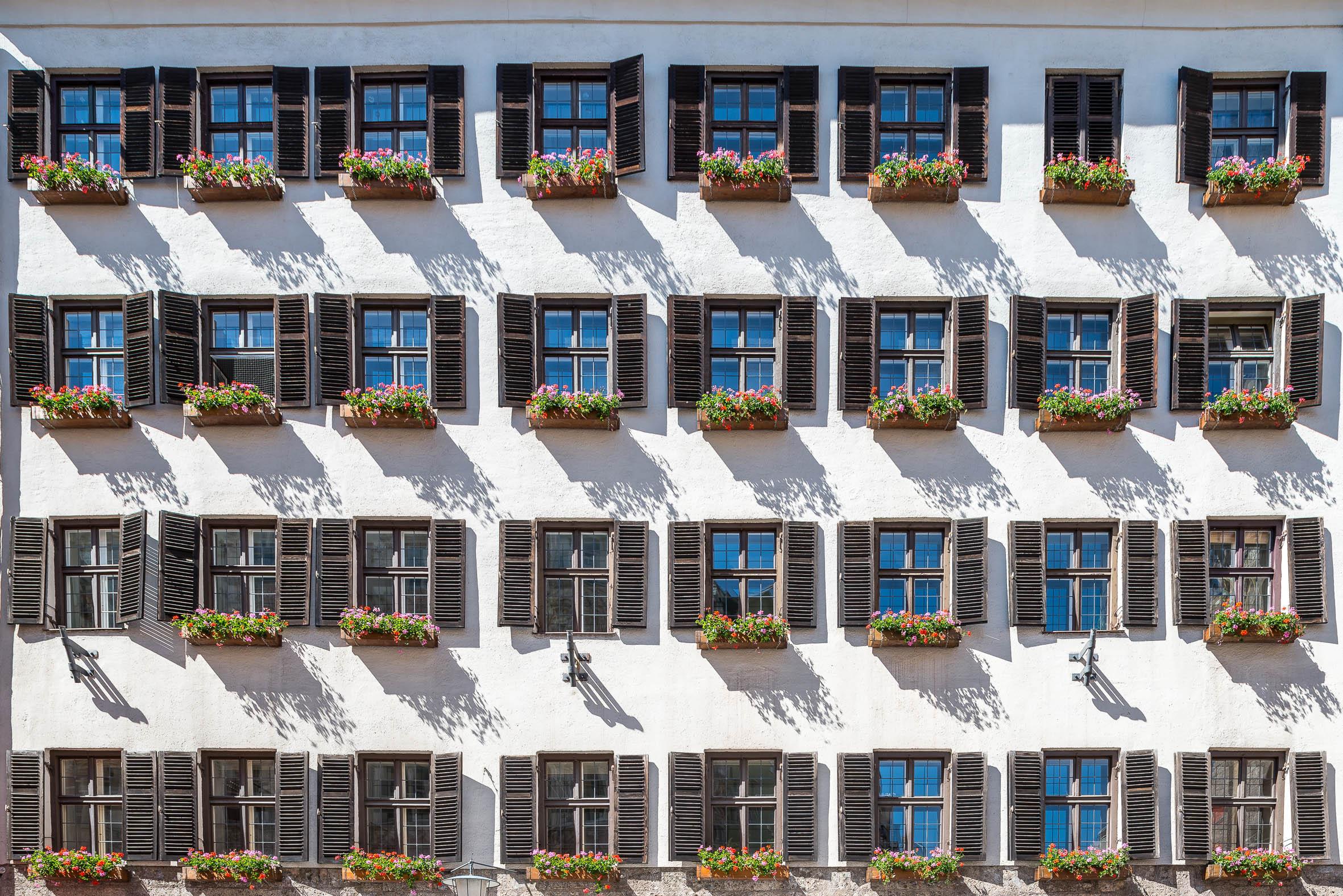 Architekturfotografie Historisches Gebäude Innsbruck