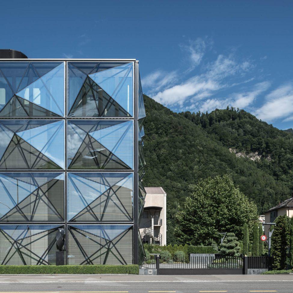 Architekturfotografie Vaduz Firmenzentrale