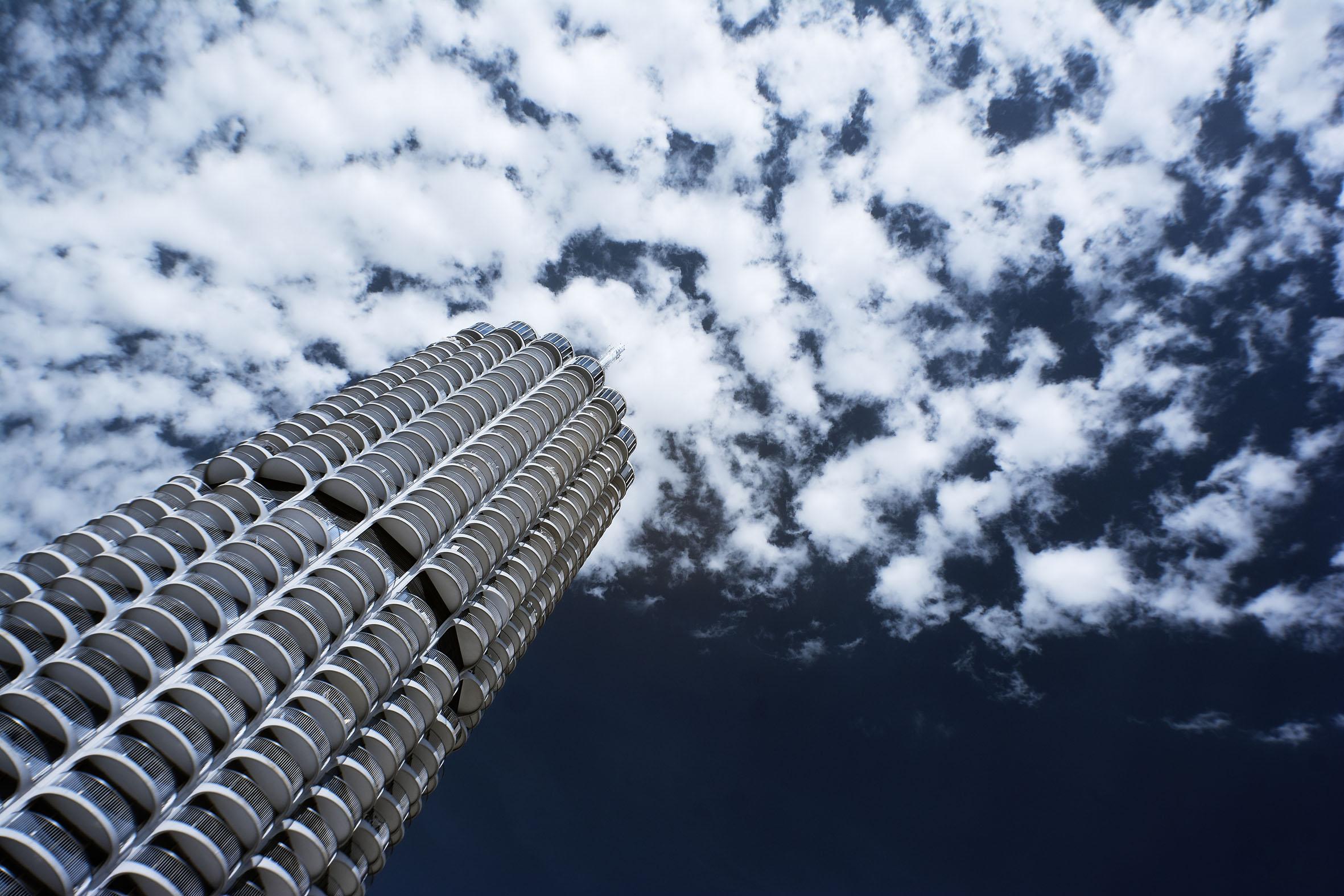 Architekturfotografie Augsburg Hotelturm