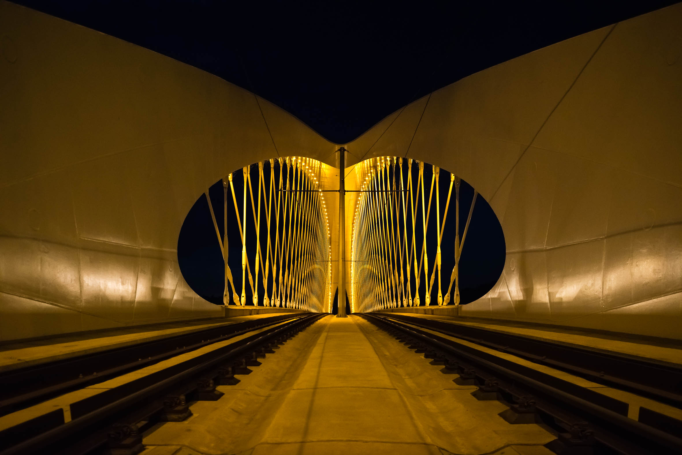 Architekturfotografie Prag Troja Brücke