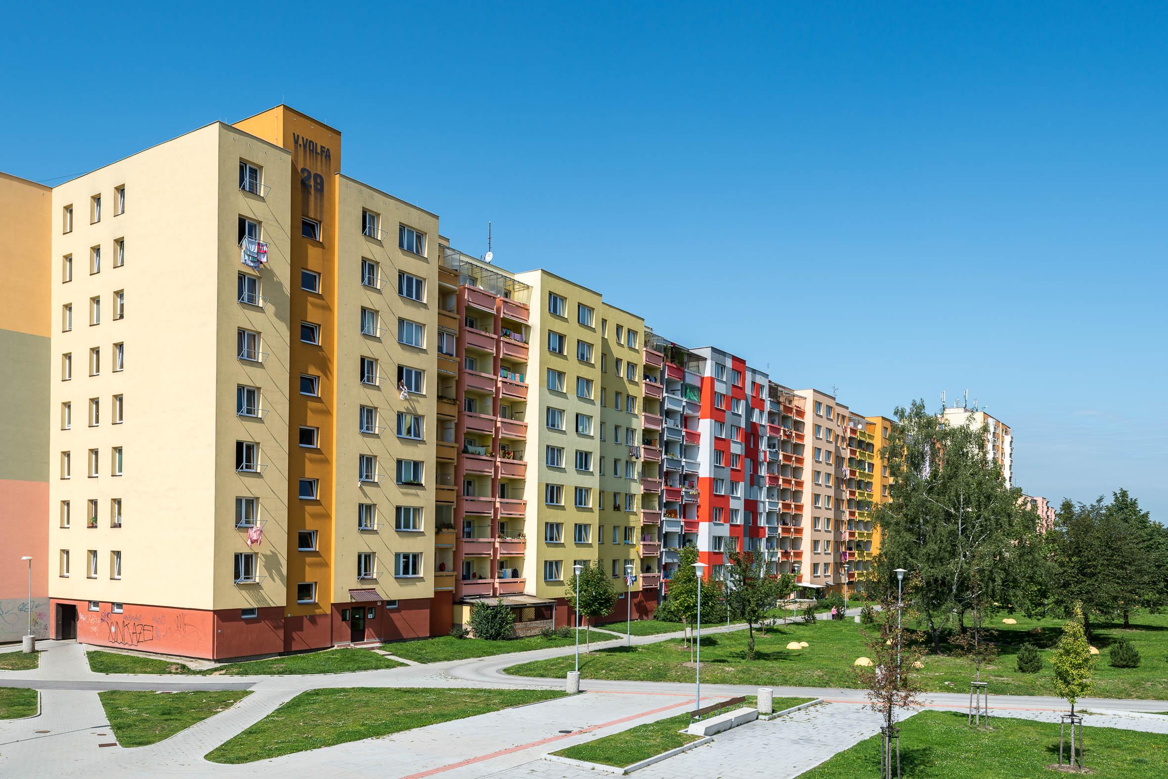 Architekturfotografie Wohnsiedlung Maj Budweis