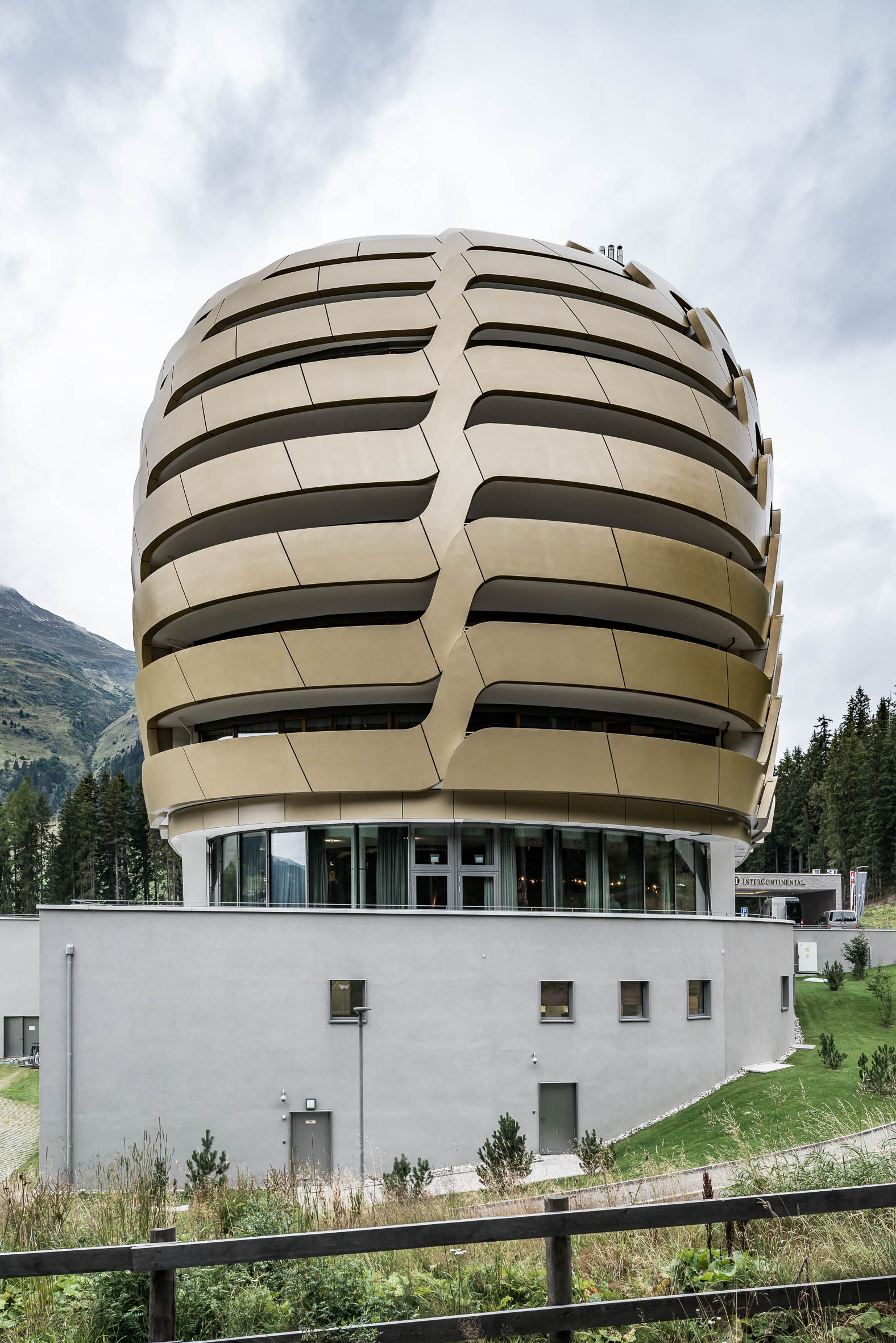 Architekturfotografie Davos Hotel Intercontinental