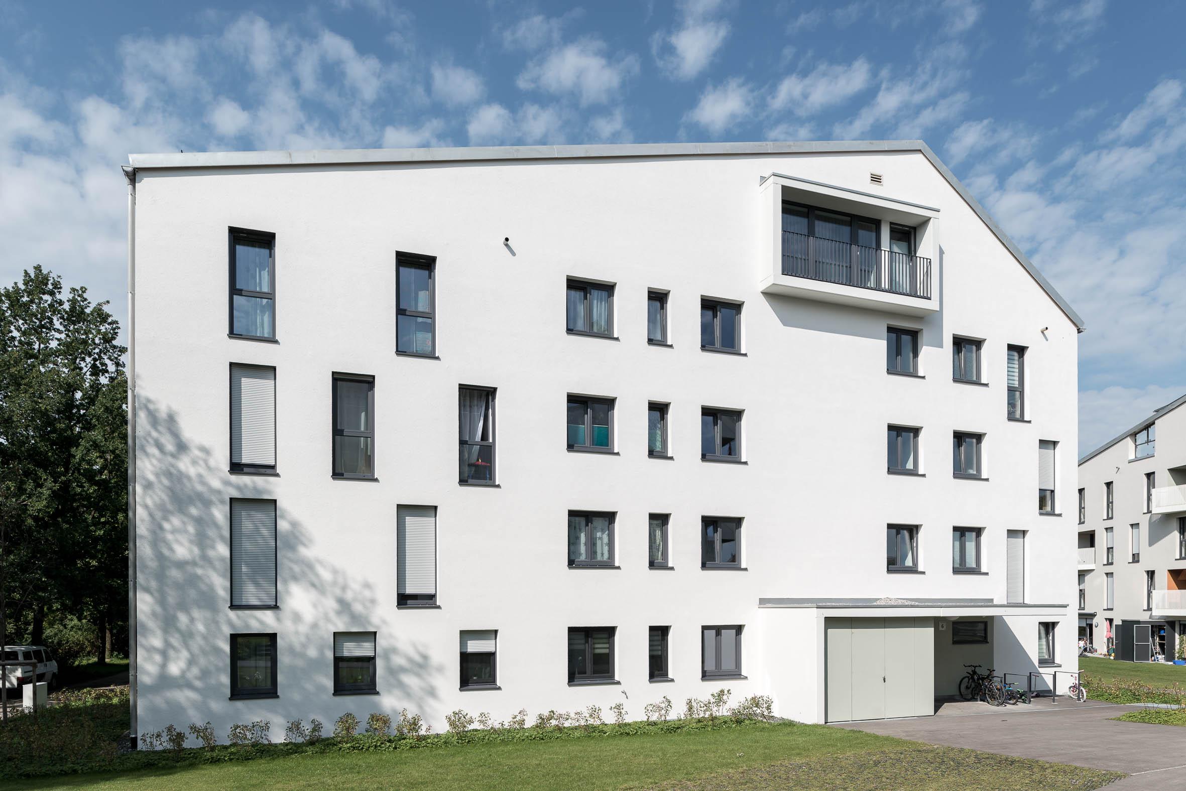 Architekturfotografie Wohnbebauung Ludwigshöhe Kempten