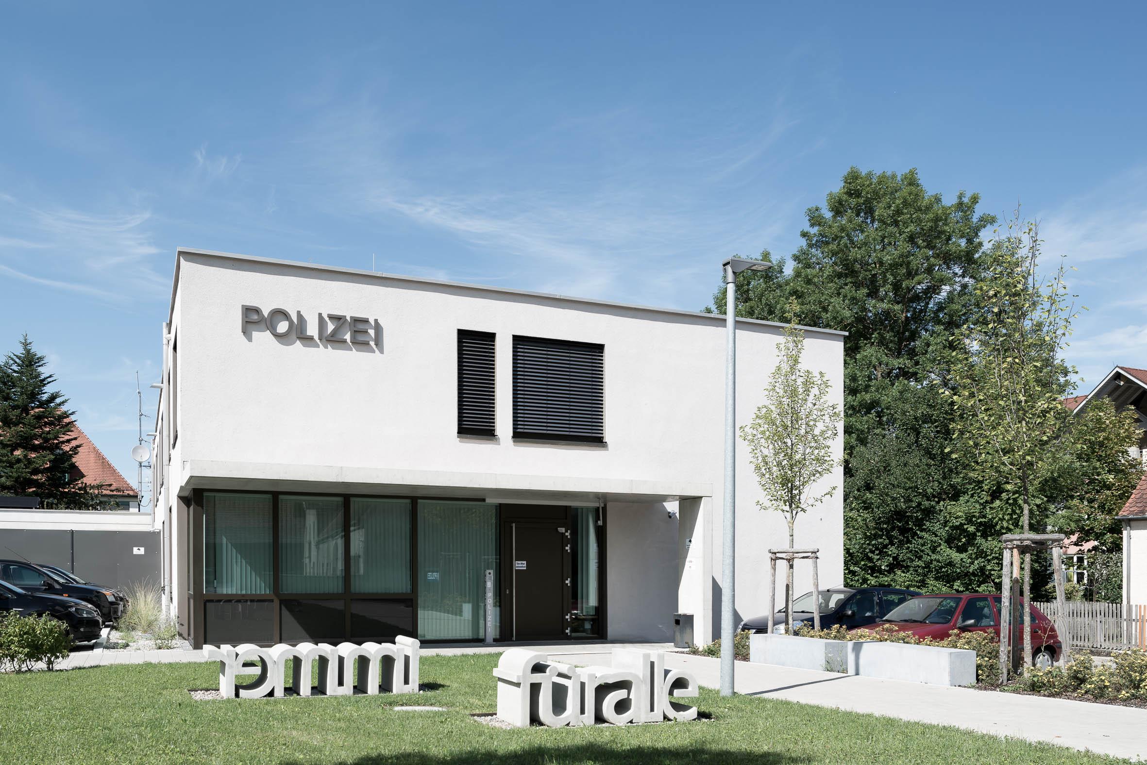 Architekturfotografie Mindelheim Polizeirevier