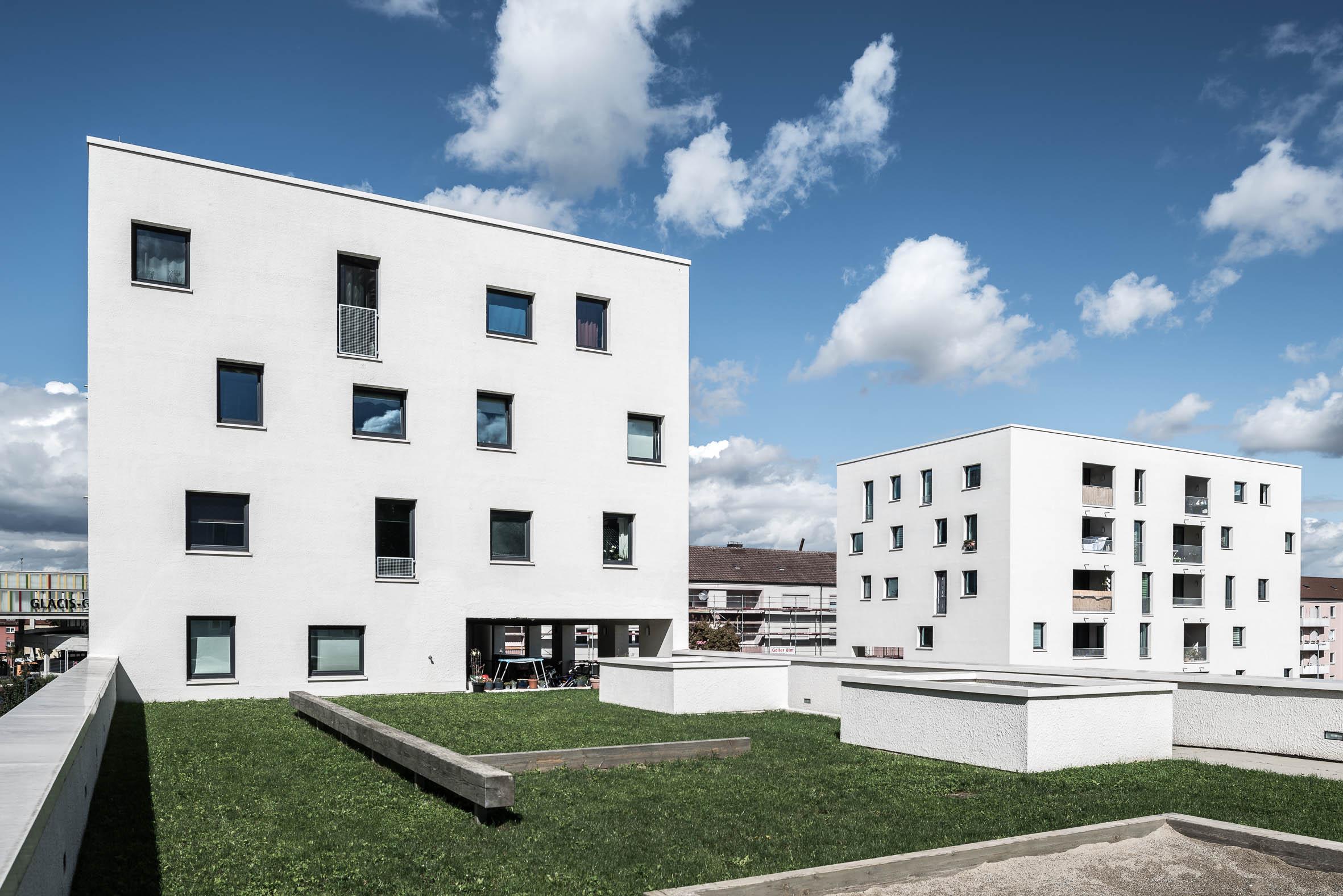 Architekturfotografie Jules Et Jim Neu Ulm Bauwerk