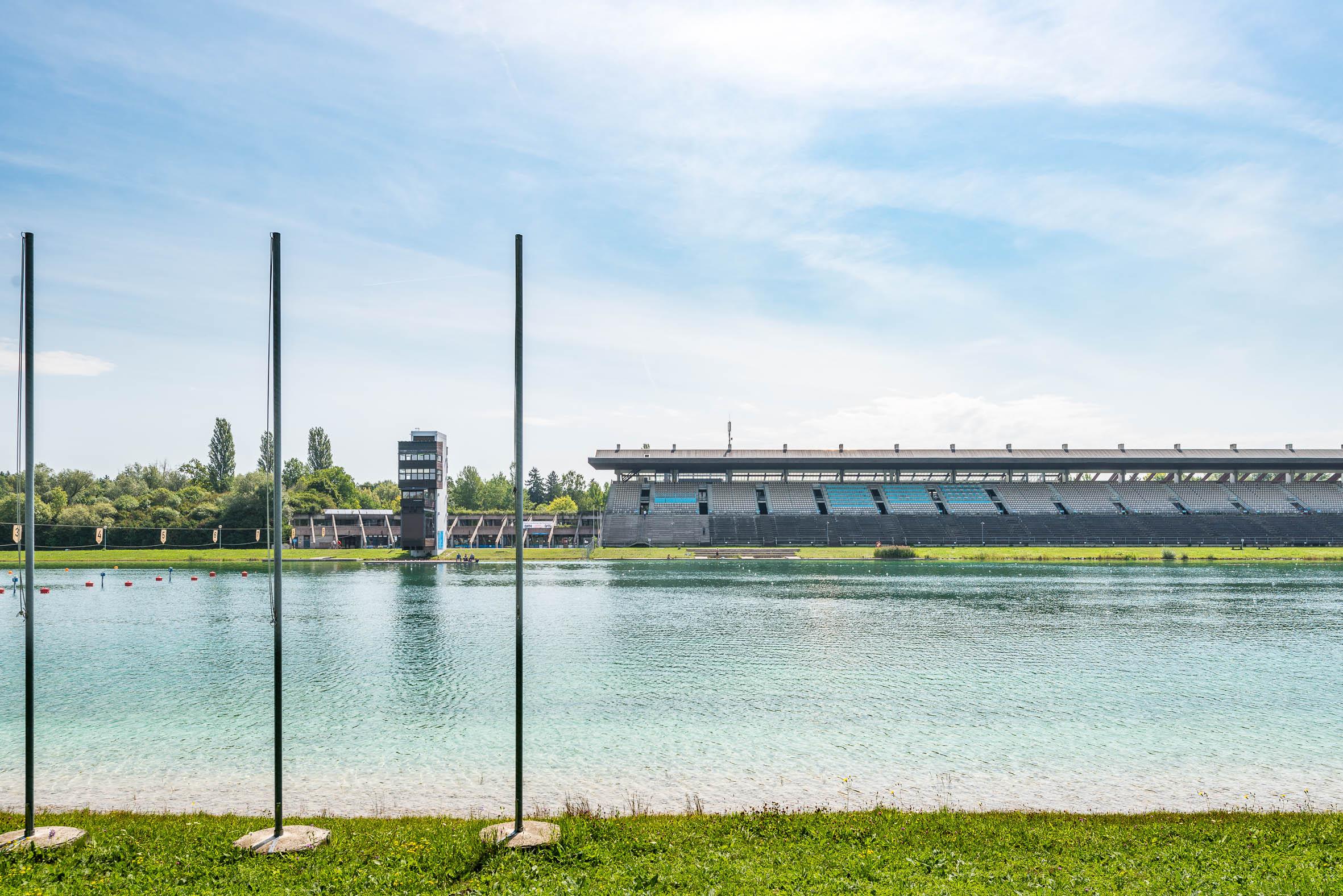 Architekturfotografie Olympia Regattastrecke Oberschleißheim