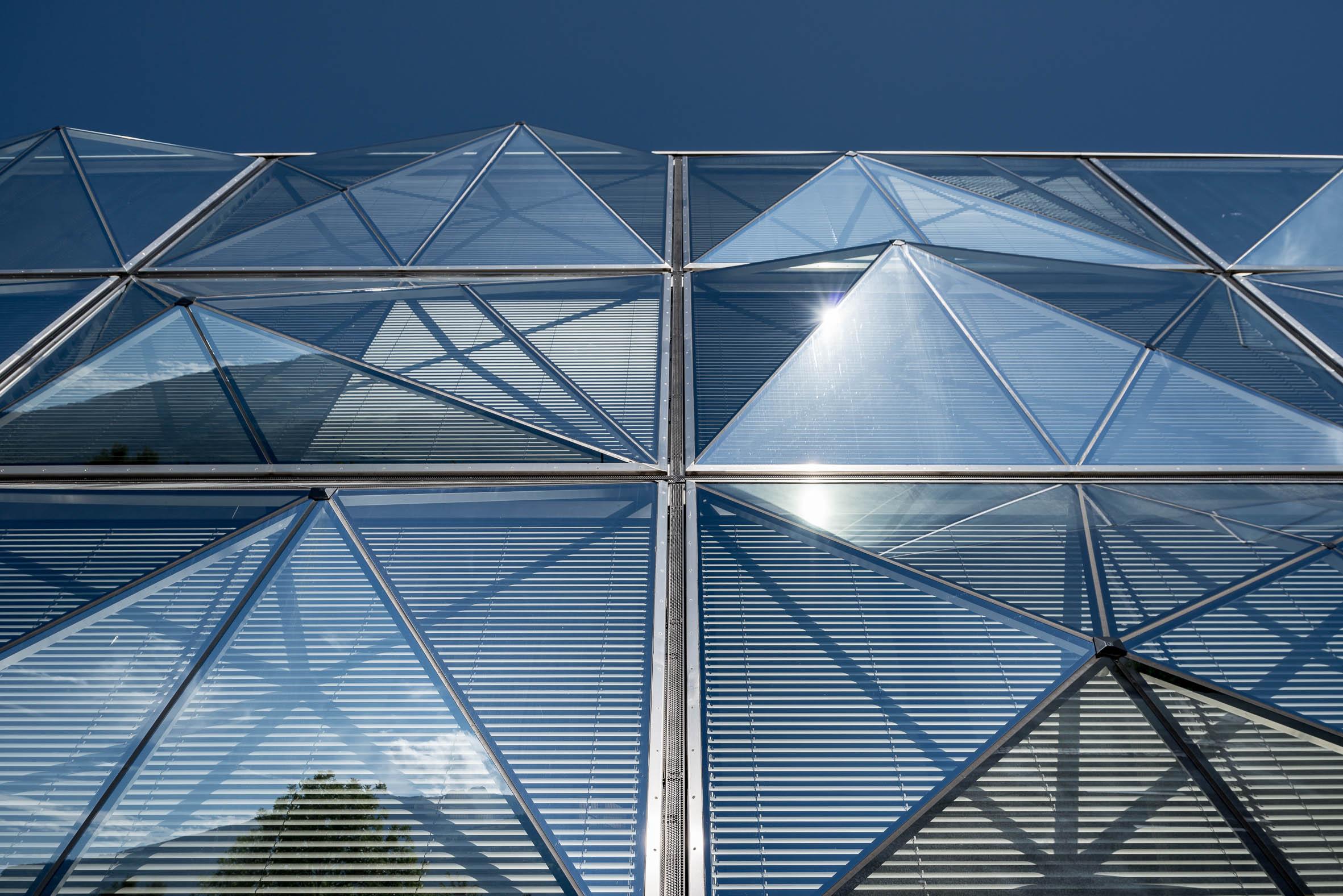 Architekturfotografie Firmenzentrale Channoine Cosmetics Vaduz