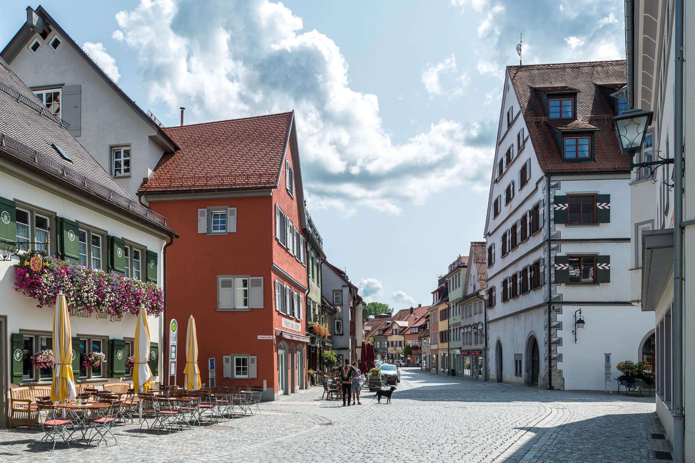 Architekturfotografie Historische Altstadt Wangen im Allgäu