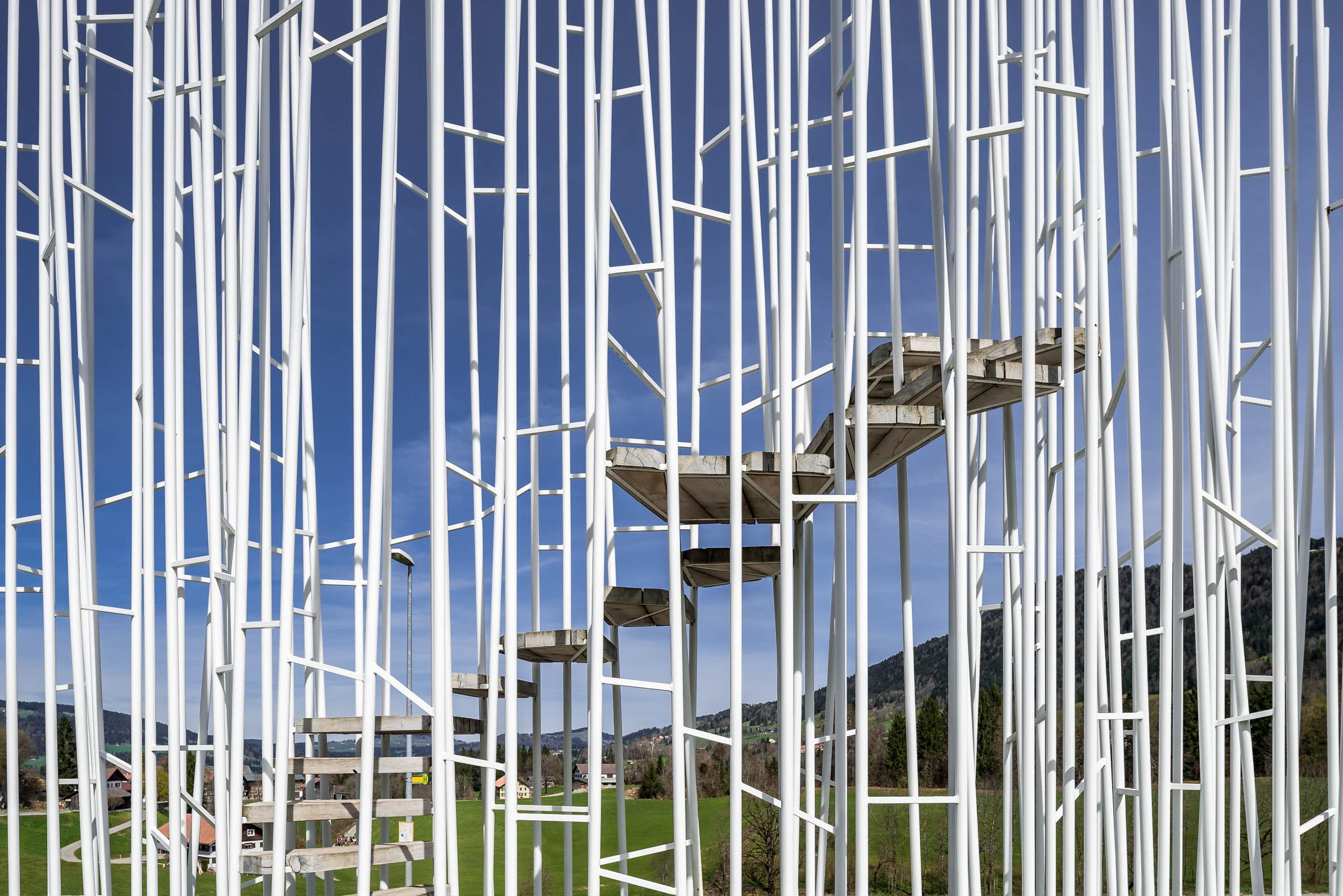 Architekturfotografie Krumbach Bushaltestelle Bränden