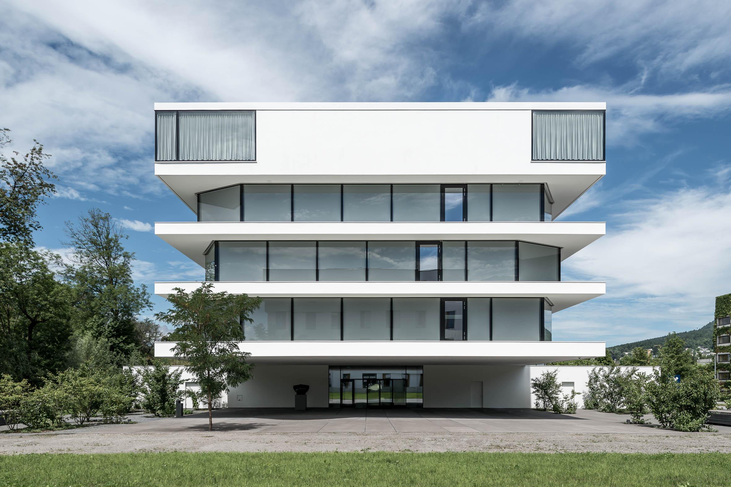 Architekturfotografie Verwaltungsgebäude First Vaduz