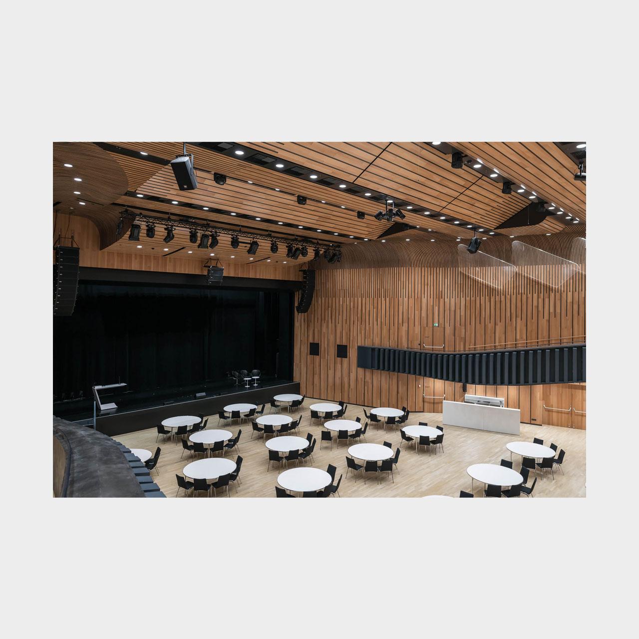 Architekturfotografie Feldkirch Montforthaus