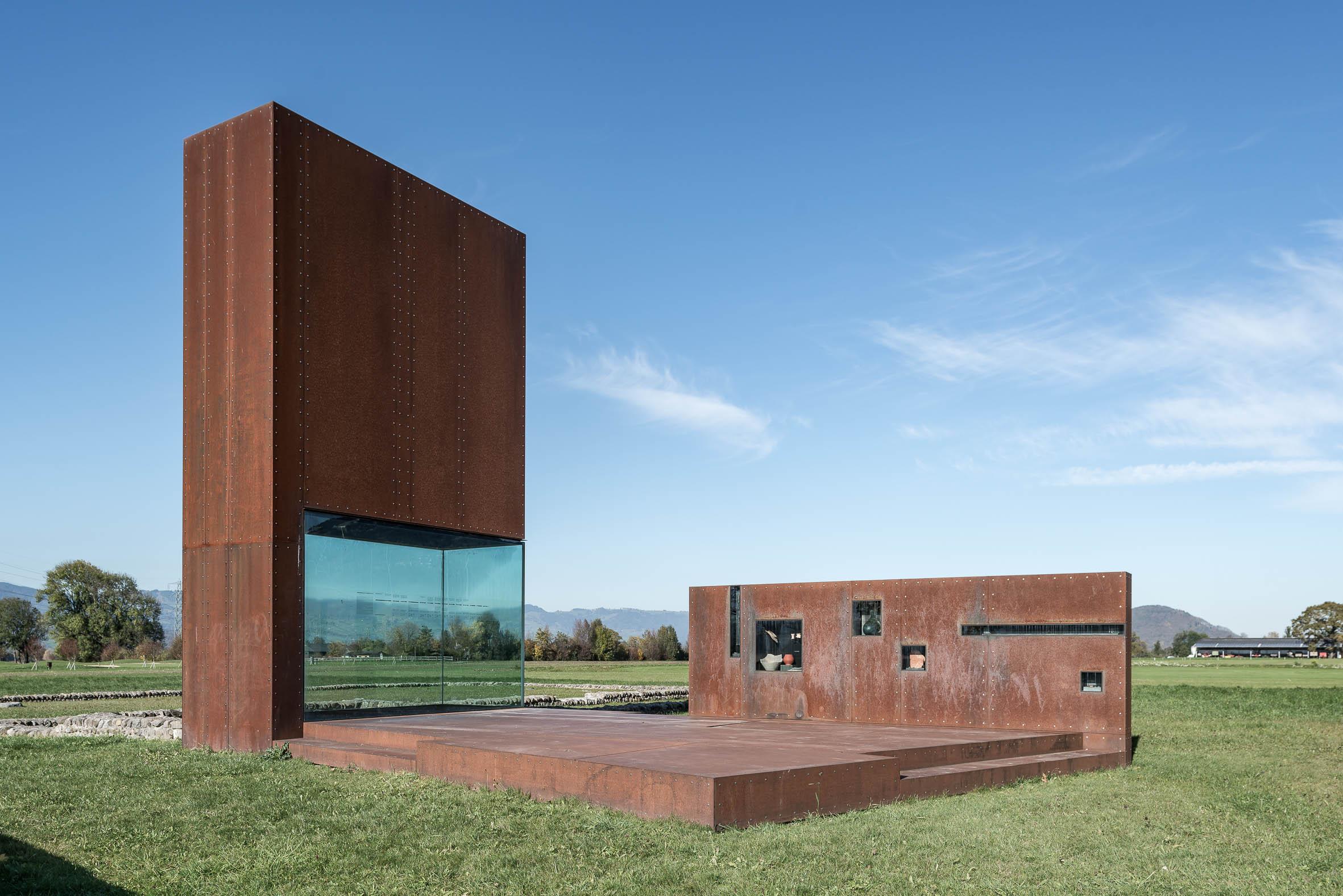 Architekturfotografie Rankweil Freiluftmuseum Römervilla