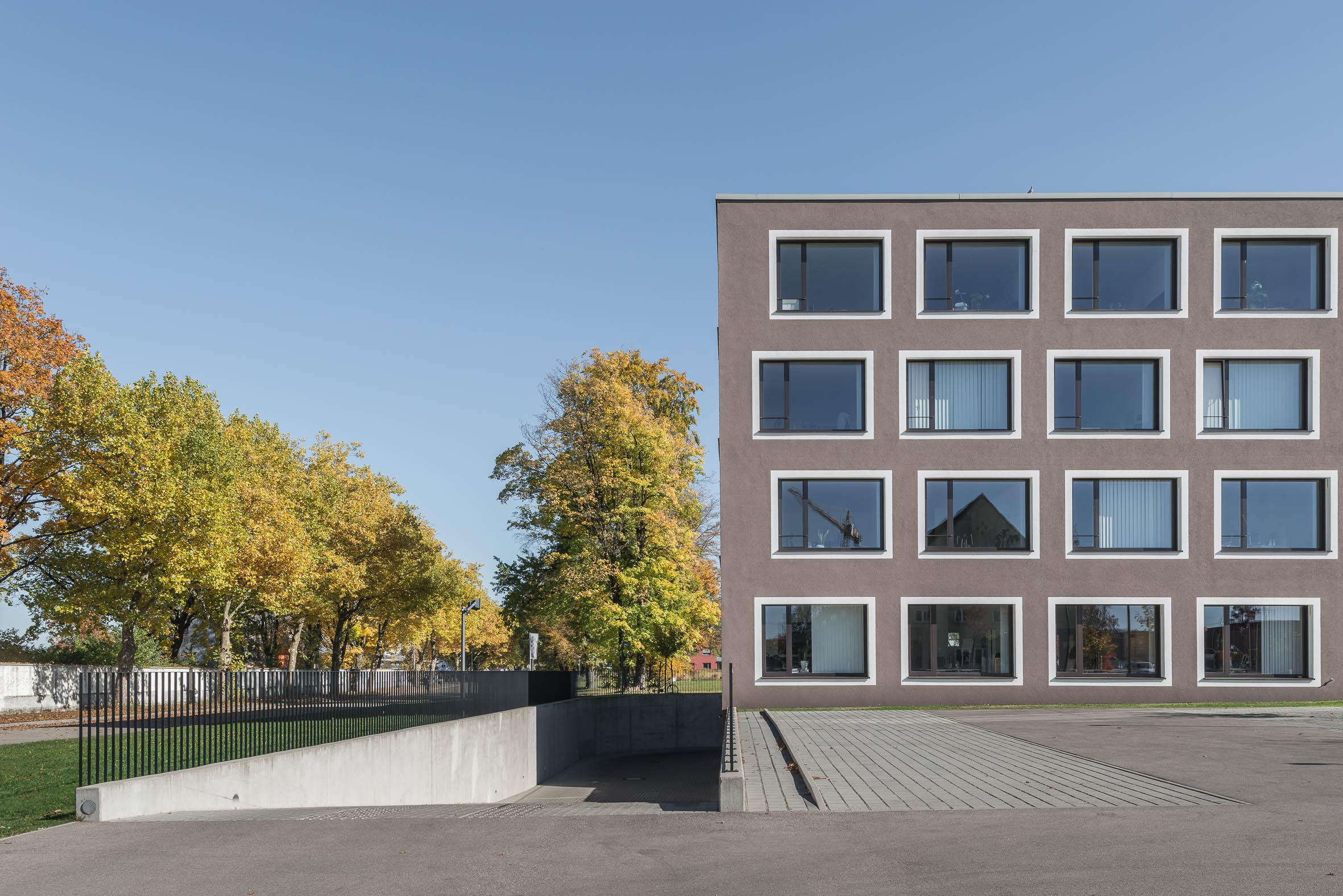 Architekturfotografie Augsburg Schulungszentrum Explido