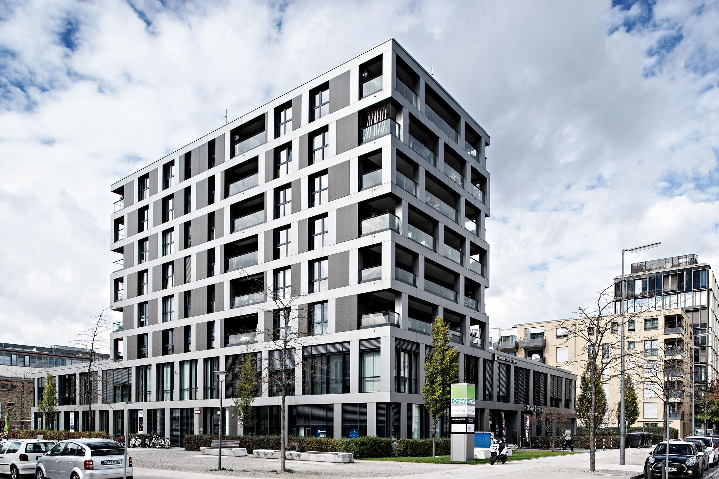 Architekturfotografie München Bahnhofsareal