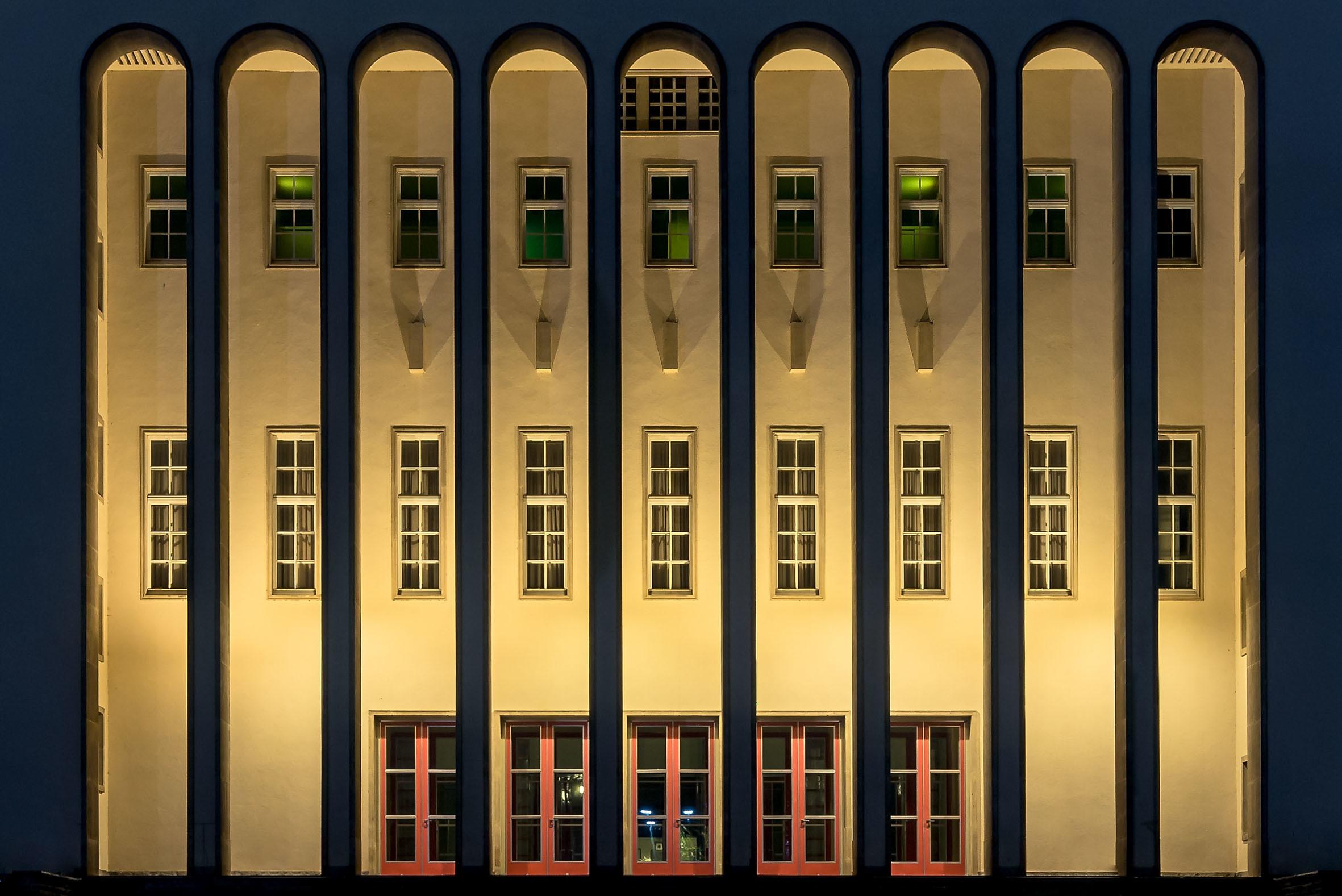 Architekturfotografie Rudolf-Oetker-Halle Bielefeld