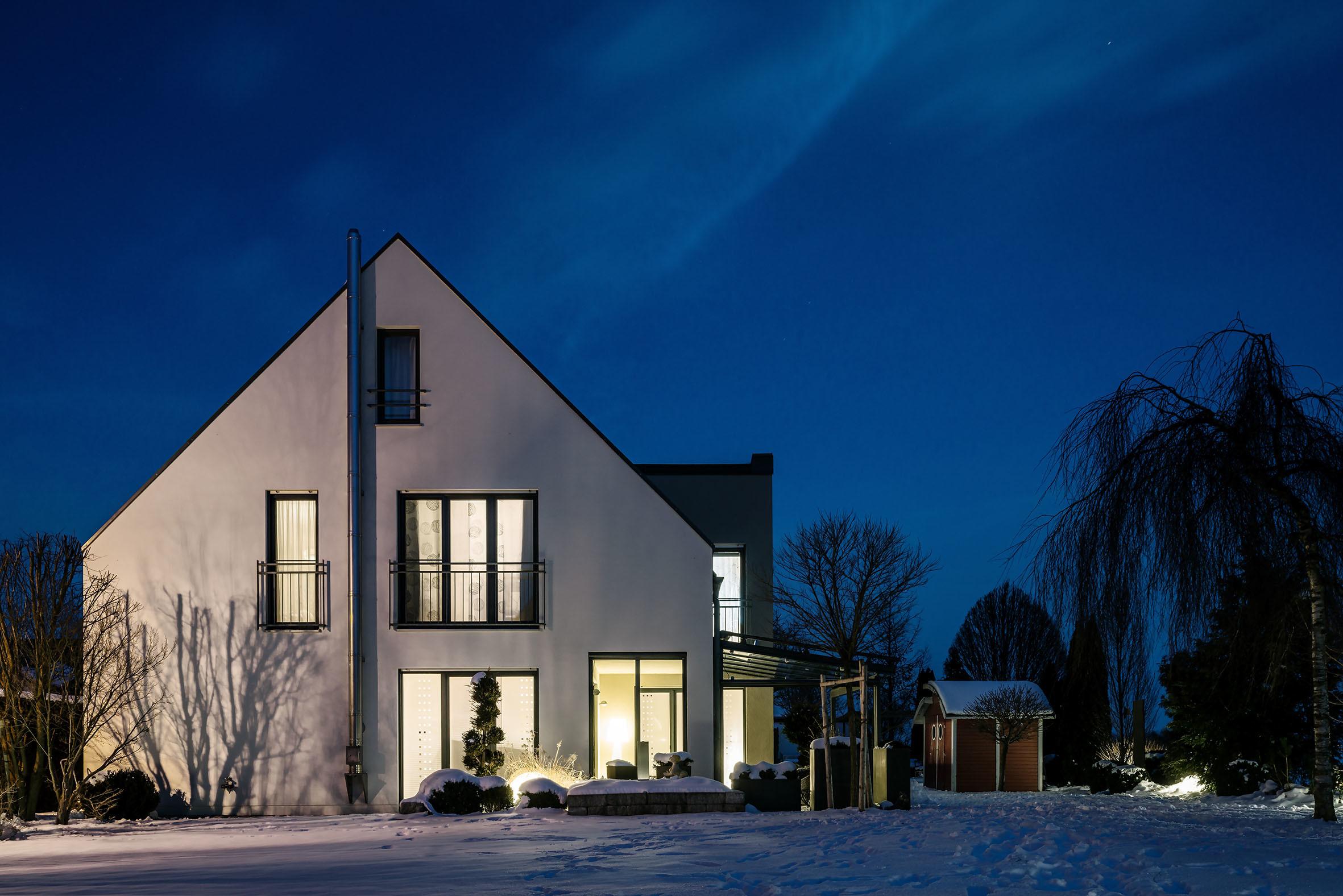 Architekturfotografie Einfamilienhaus Augsburg