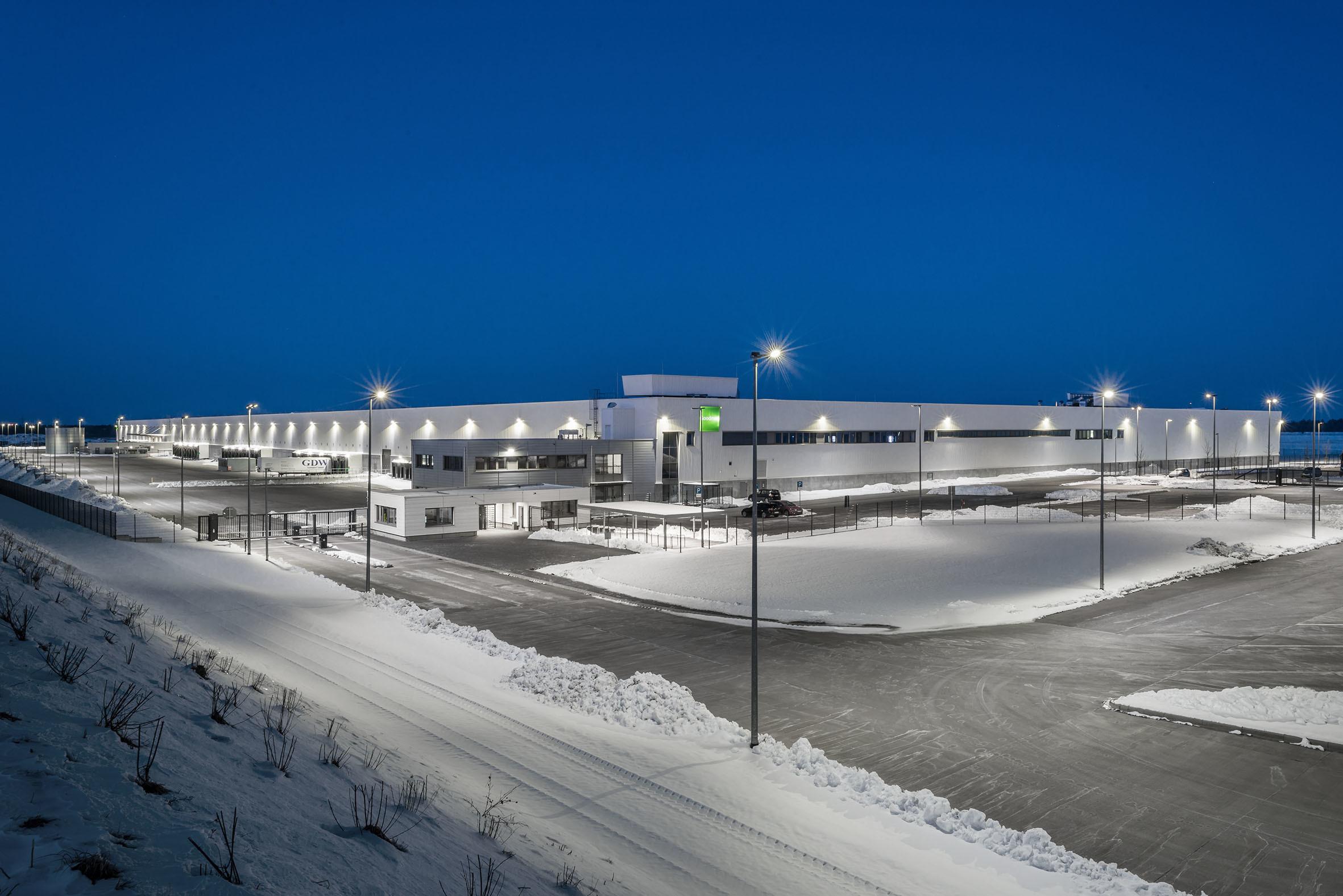 Architekturfotografie BMW Logistikzentrum Graben