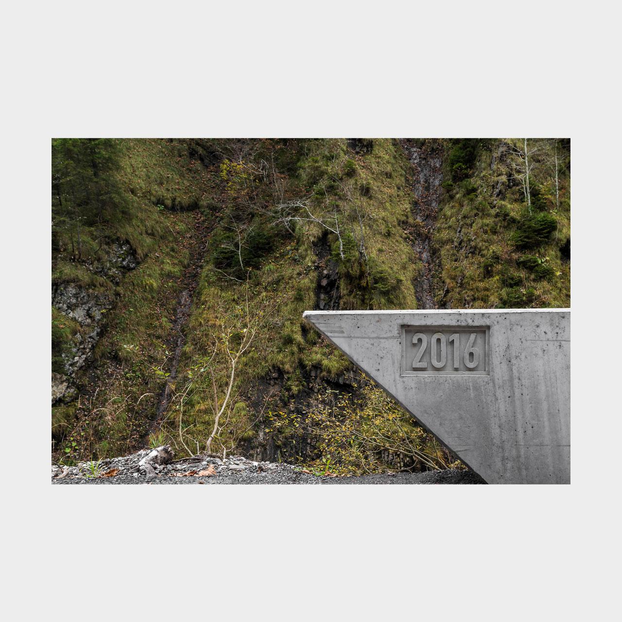 Architekturfotografie Schanerlochbrücke Ebnit