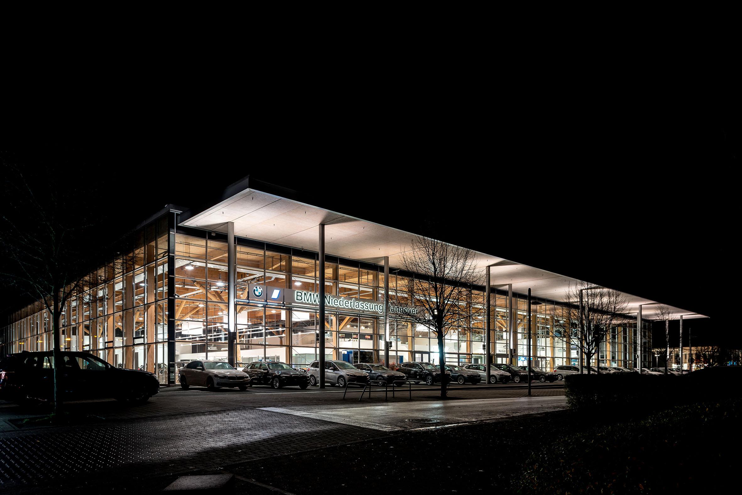 Architekturfotografie BMW Niederlassung Hannover