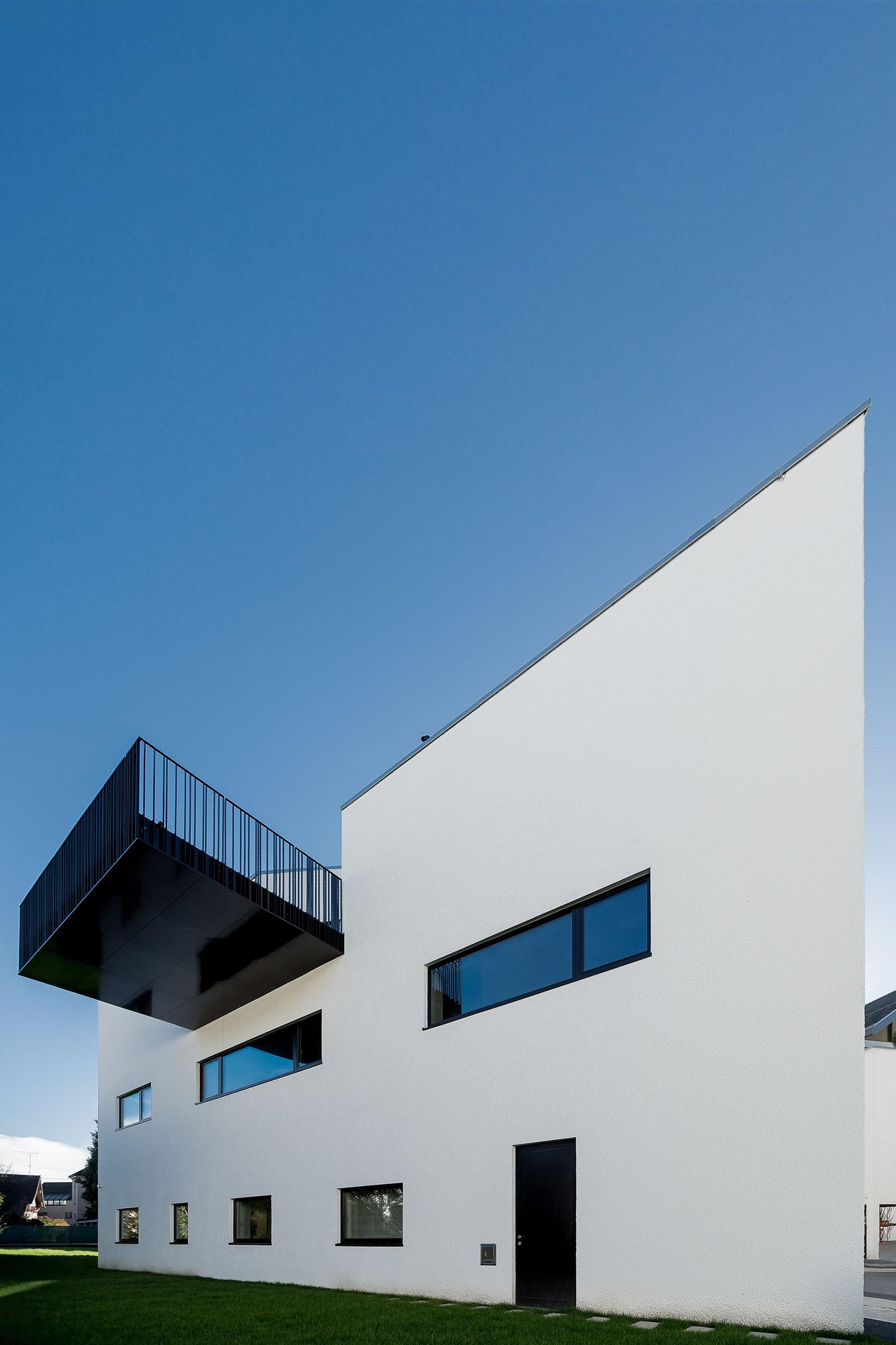 Architekturfotografie Zahnarztpraxis Hart Bauwerk