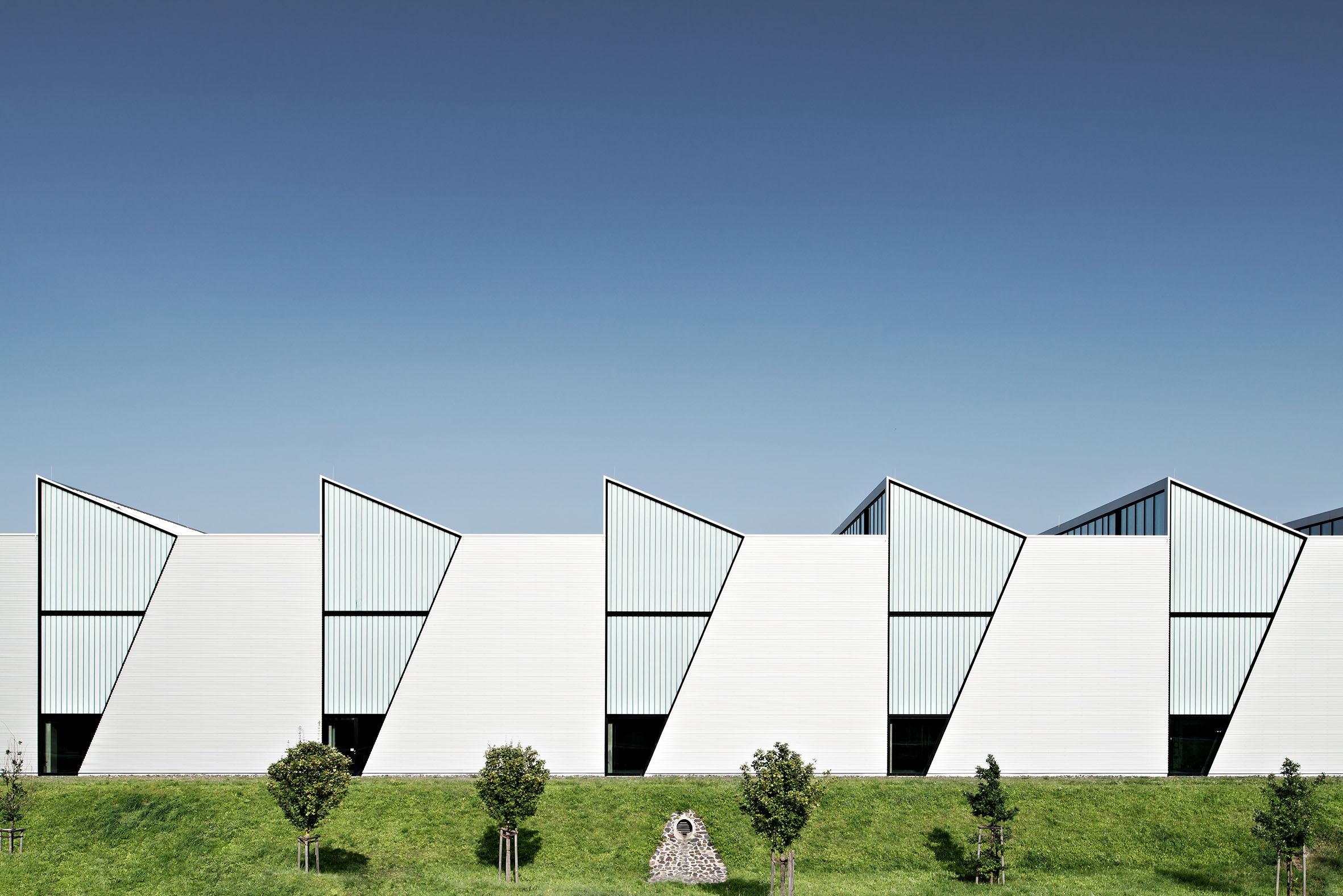 Architekturfotografie Produktionshalle Kaufbeuren