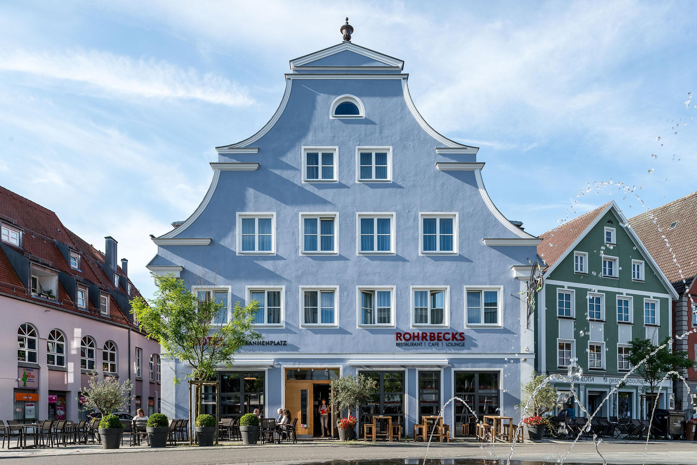 Architekturfotografie Hotel am Schrannenplatz Memmingen