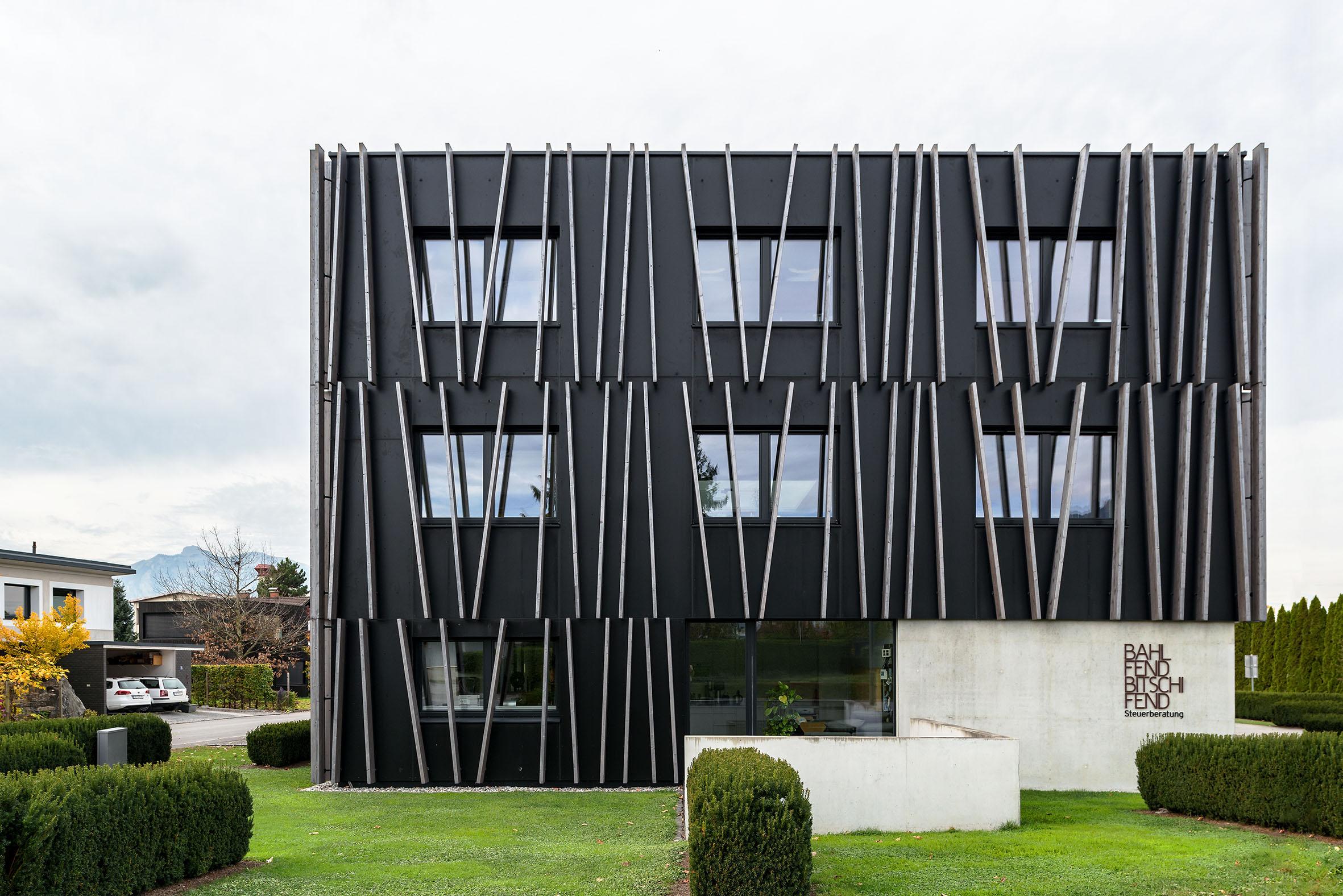 Architekturfotografie Bürogebäude Rankweil