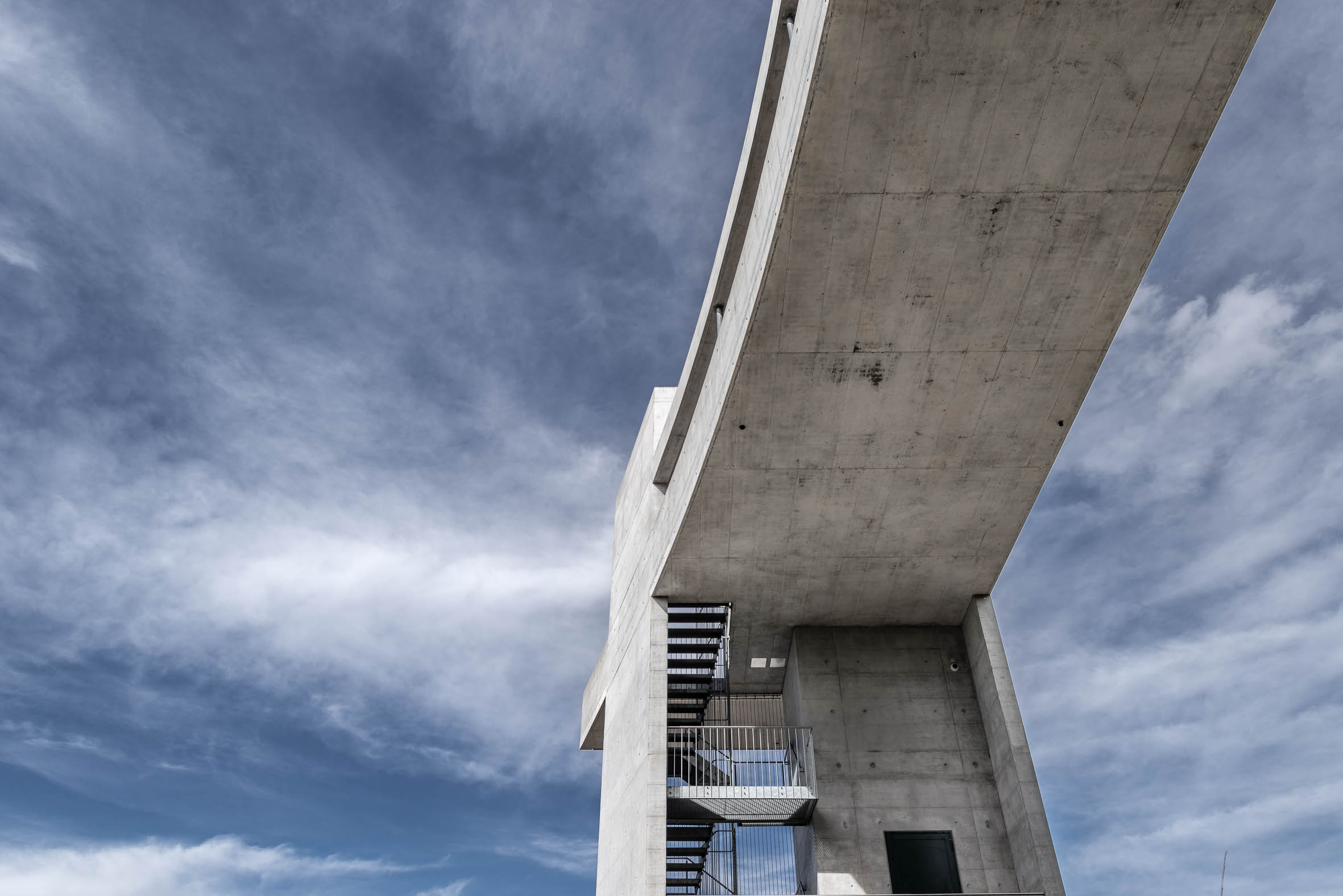 Architekturfotografie Treppenturm Rorschach