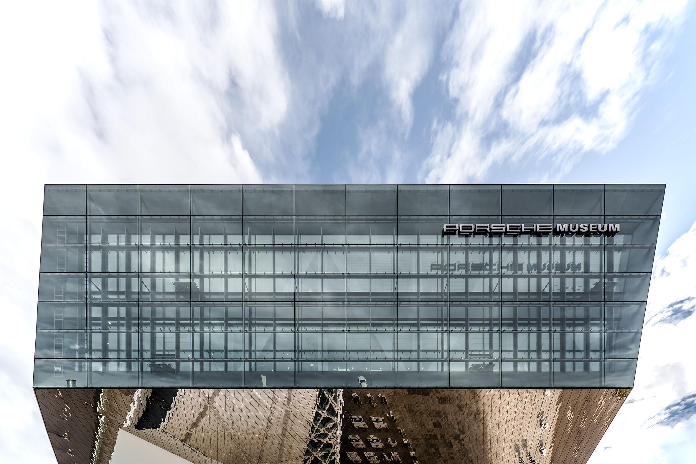 Architekturfotografie Porsche Museum Stuttgart