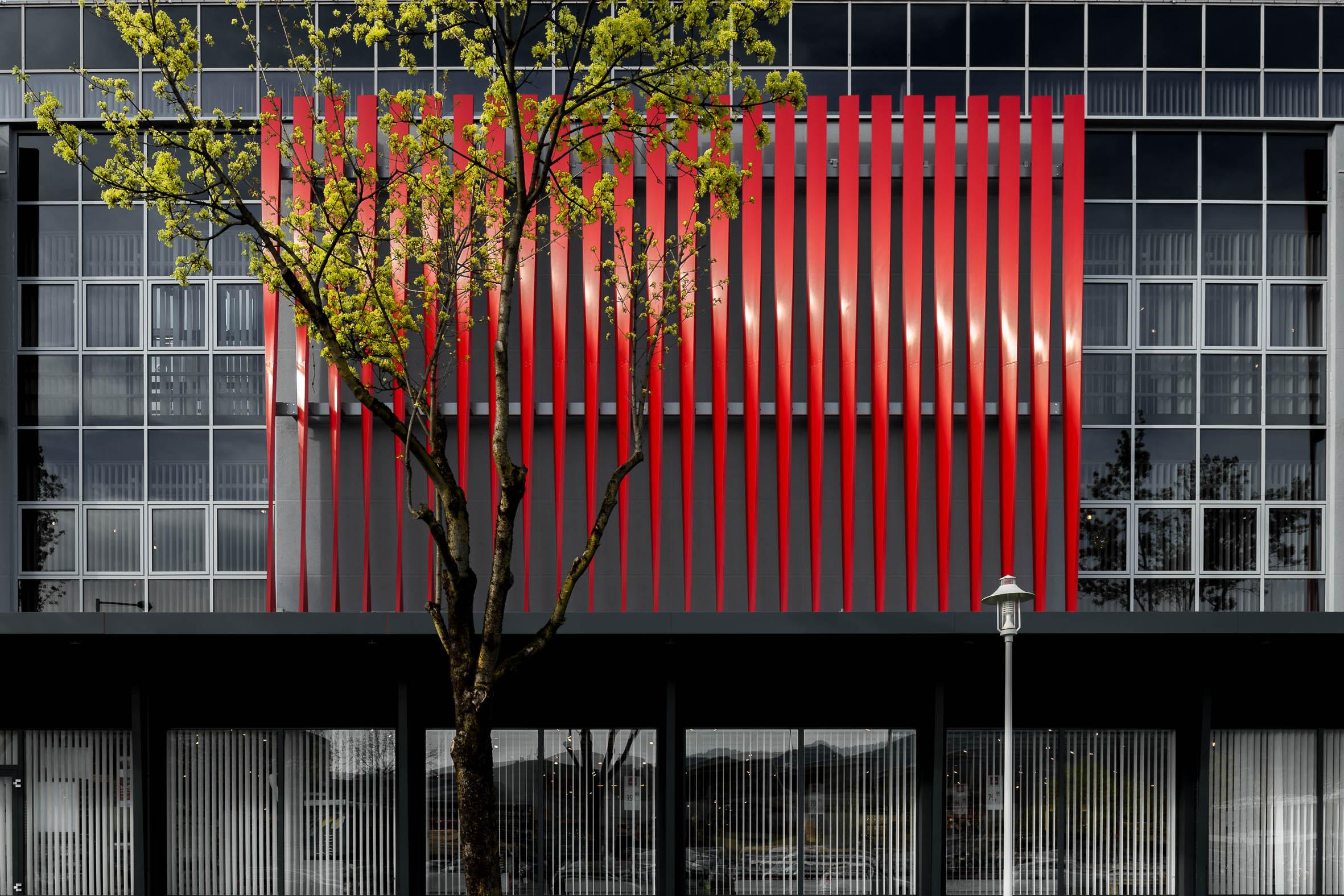 Architekturfotografie Fassade Dornbirn