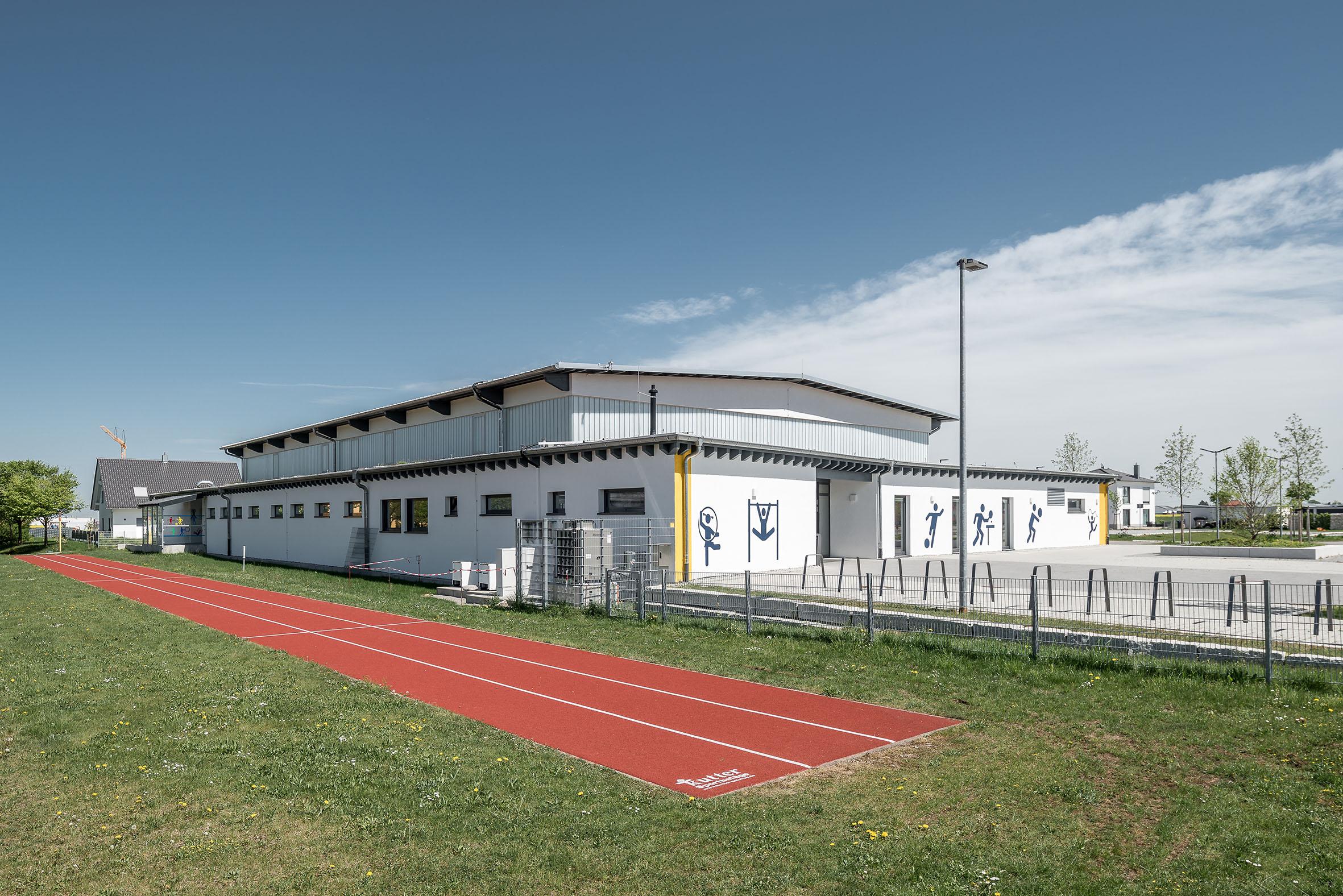 Architekturfotografie Sporthalle Graben