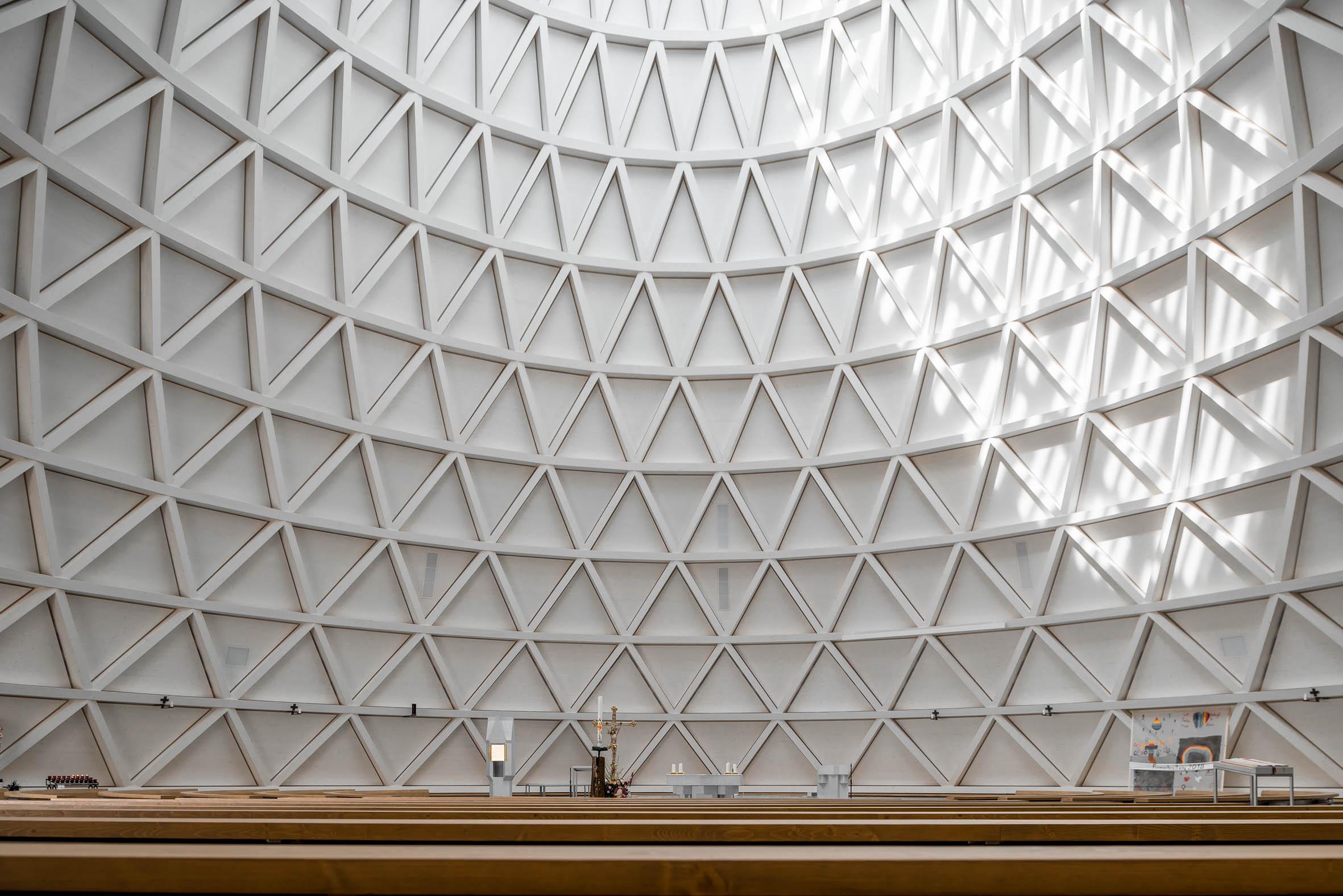 Architekturfotografie St. Josef Kirche Holzkirchen