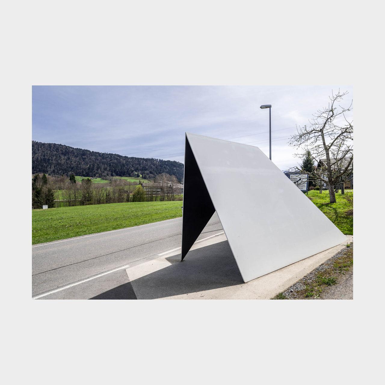 Architekturfotografie Krumbach Bushaltestelle Unterkrumbach Süd