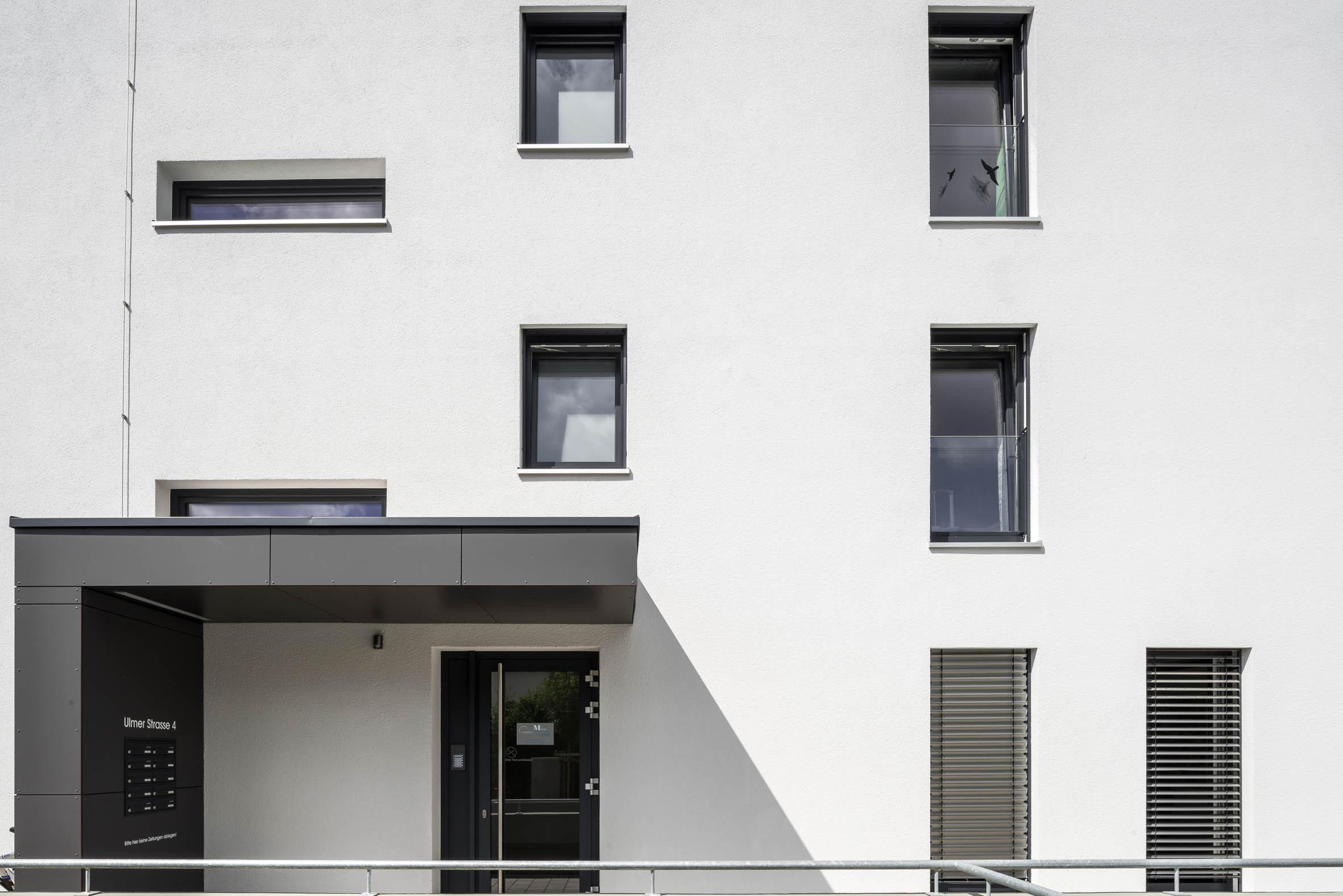 Architekturfotografie Wohnanlage Neue Ortsmitte Bellenberg
